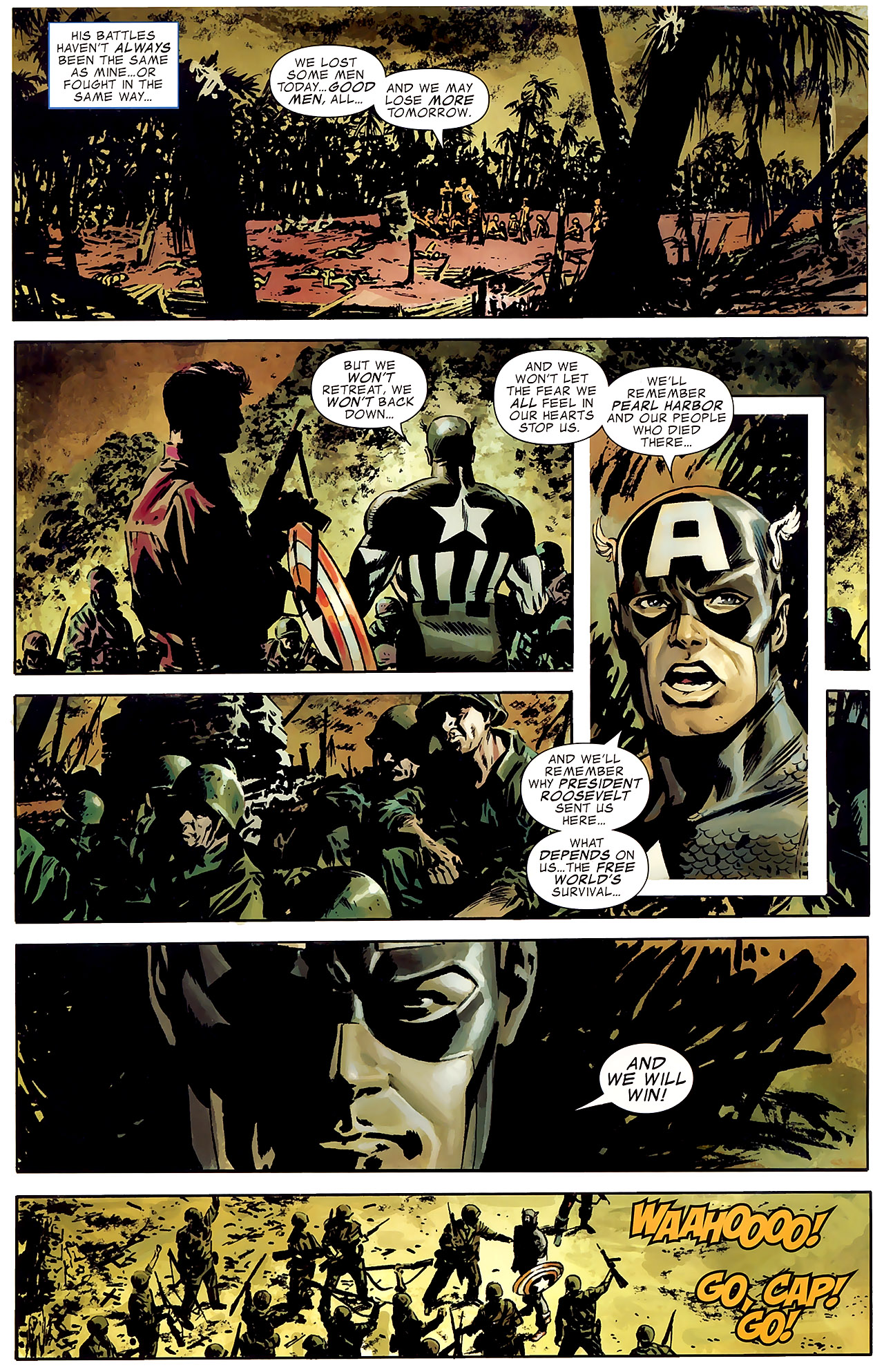 Read online Captain America Reborn: Who Will Wield the Shield? comic -  Issue # Full - 6