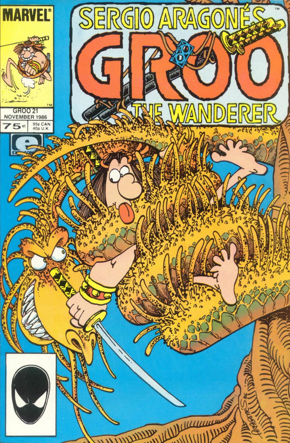 Read online Sergio Aragonés Groo the Wanderer comic -  Issue #21 - 1