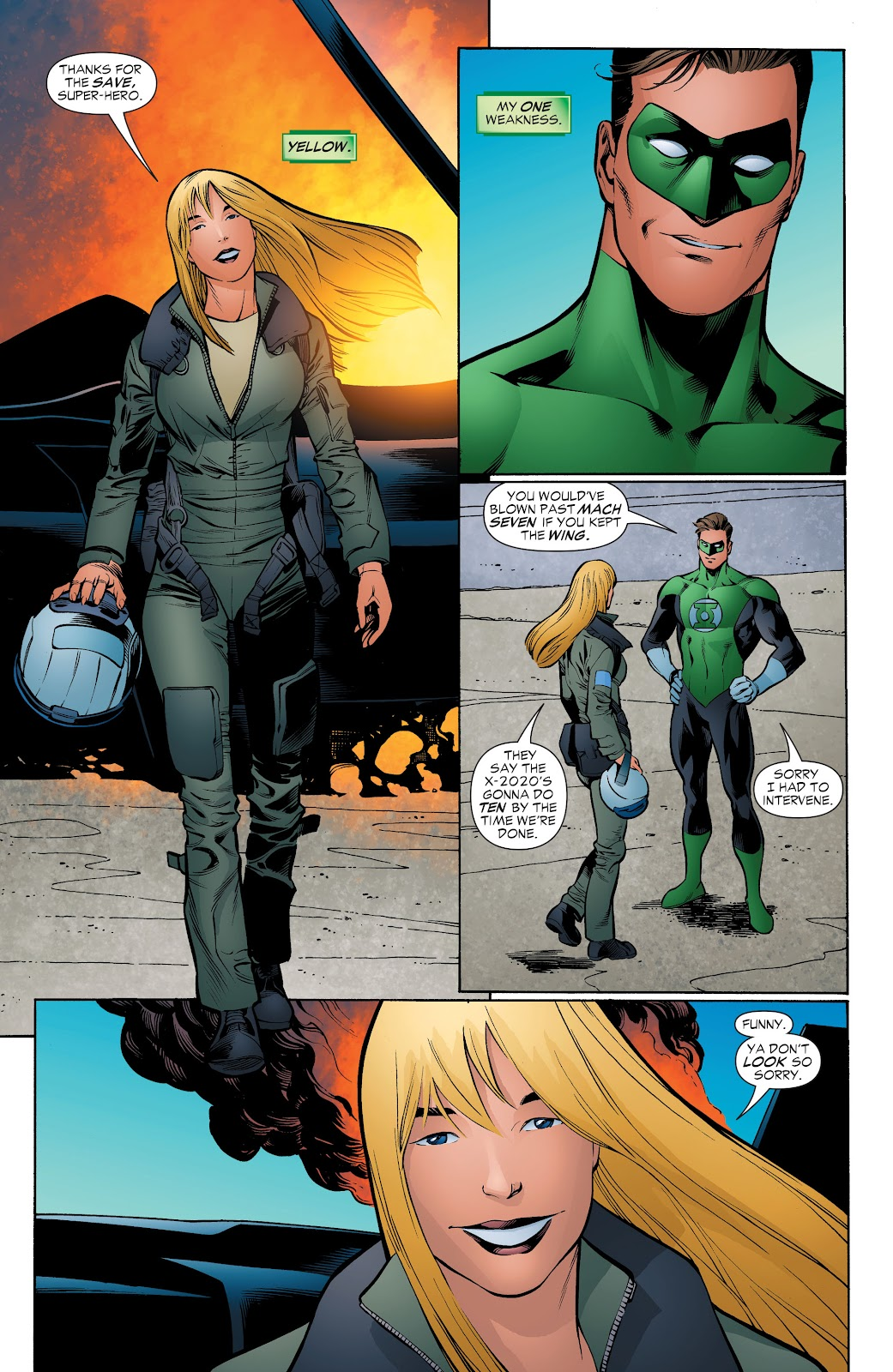Read online Green Lantern by Geoff Johns comic -  Issue # TPB 1 (Part 4) - 20