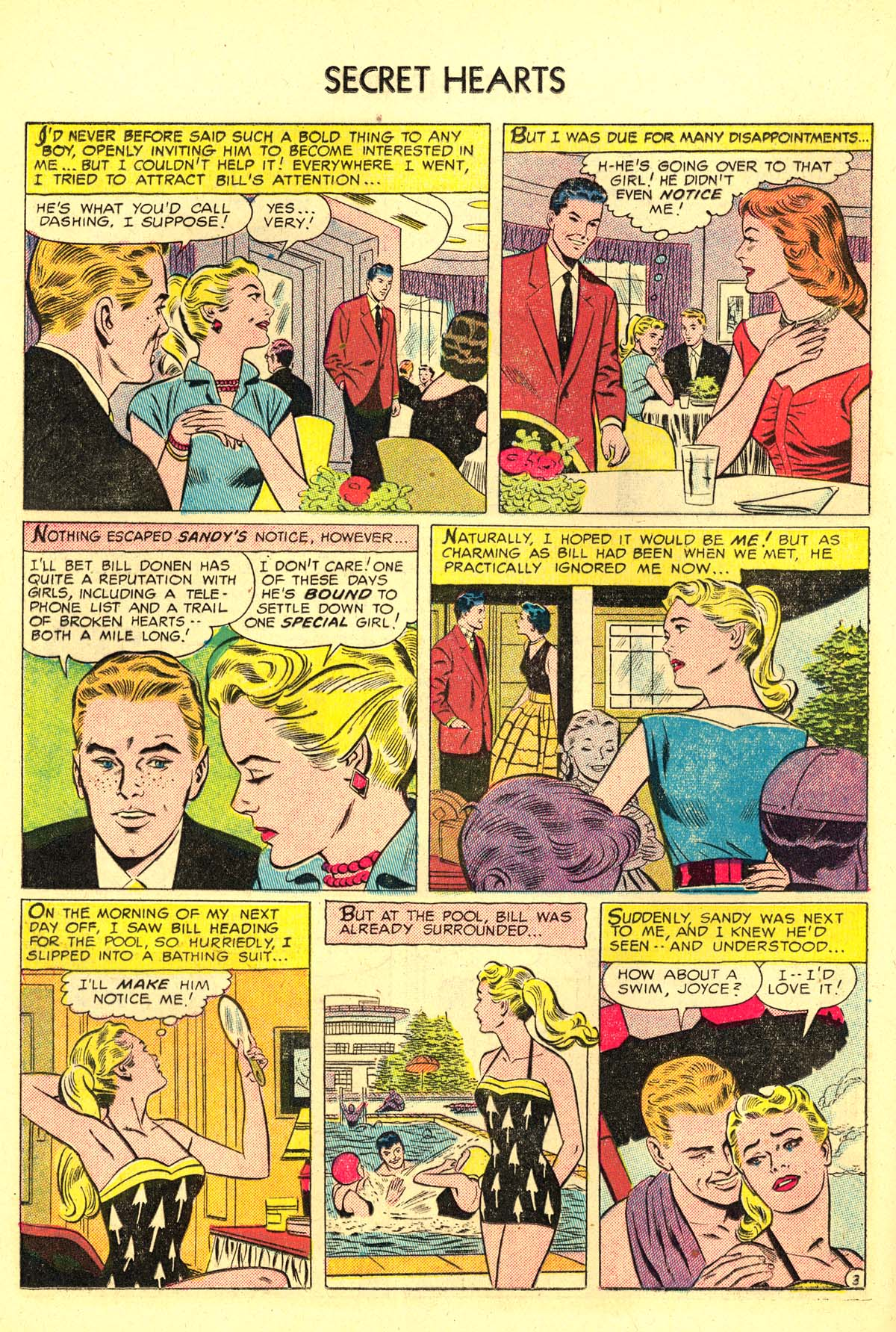 Read online Secret Hearts comic -  Issue #34 - 20