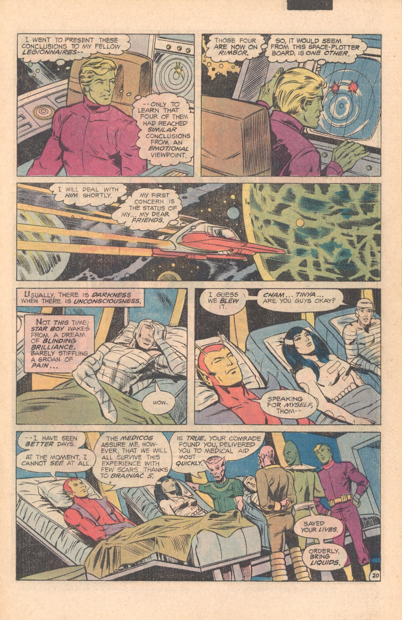 Legion of Super-Heroes (1980) 273 Page 20