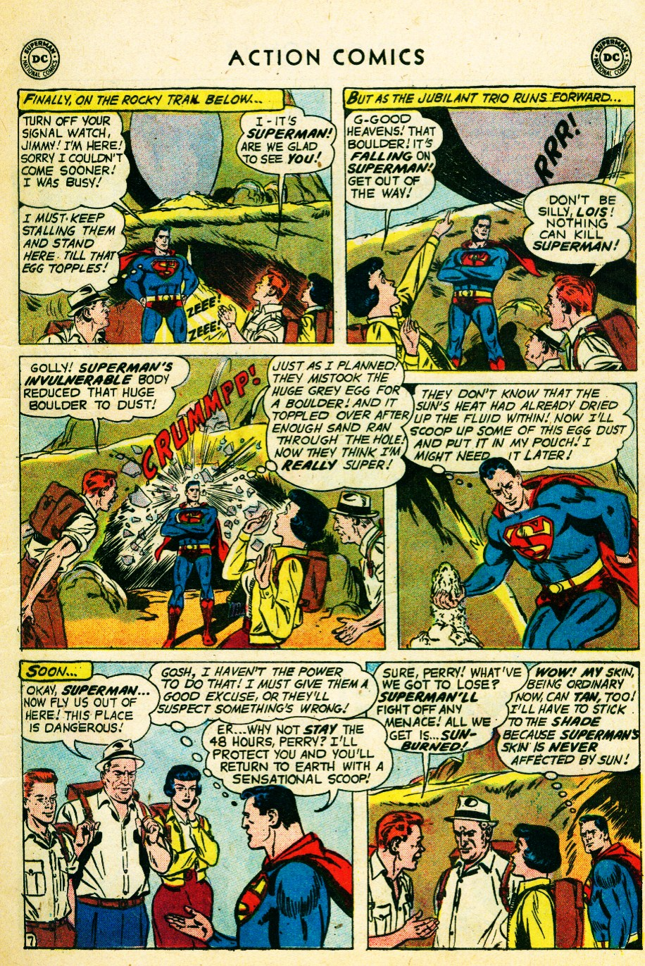 Read online Action Comics (1938) comic -  Issue #262 - 9
