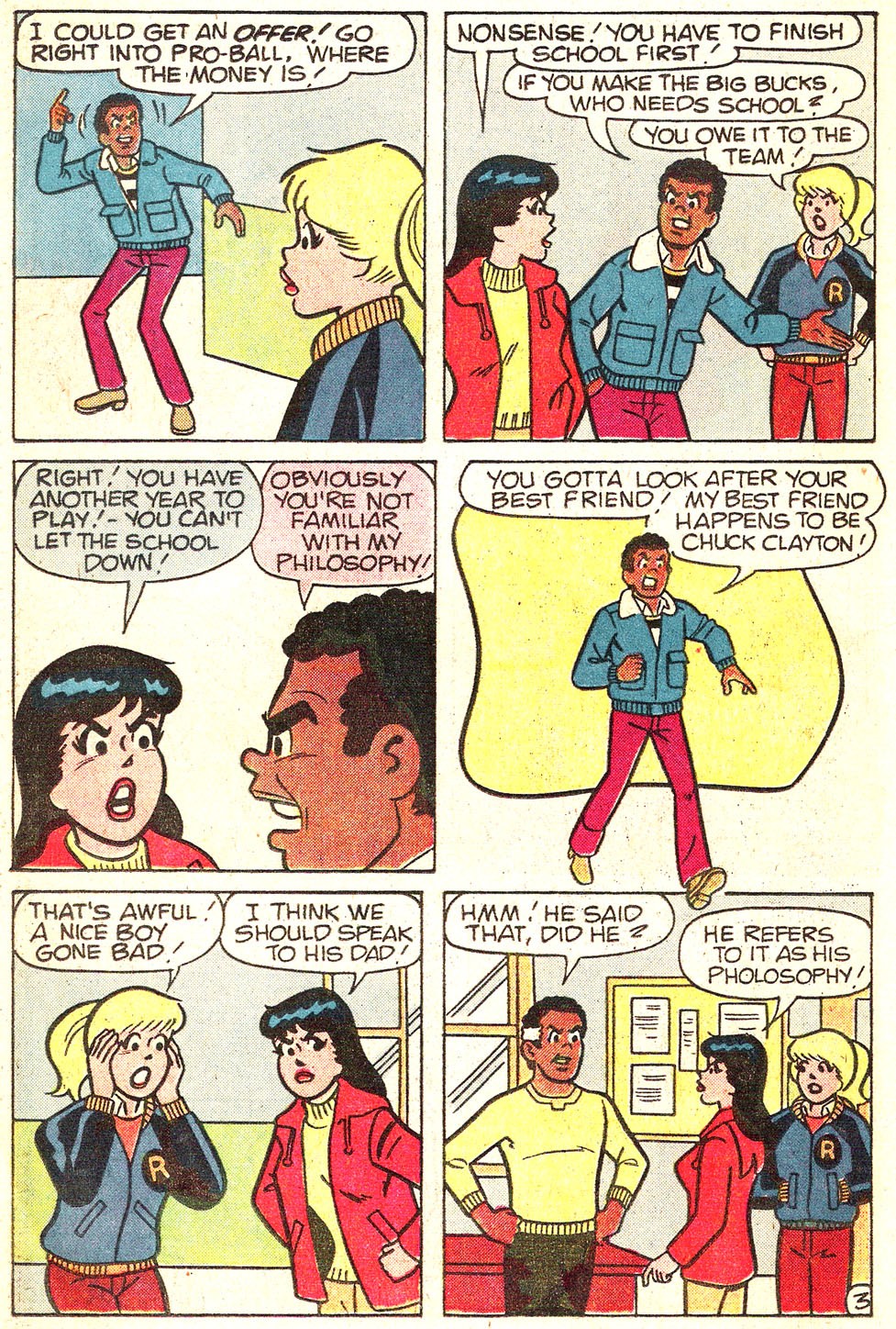 Read online Archie's Girls Betty and Veronica comic -  Issue #313 - 22
