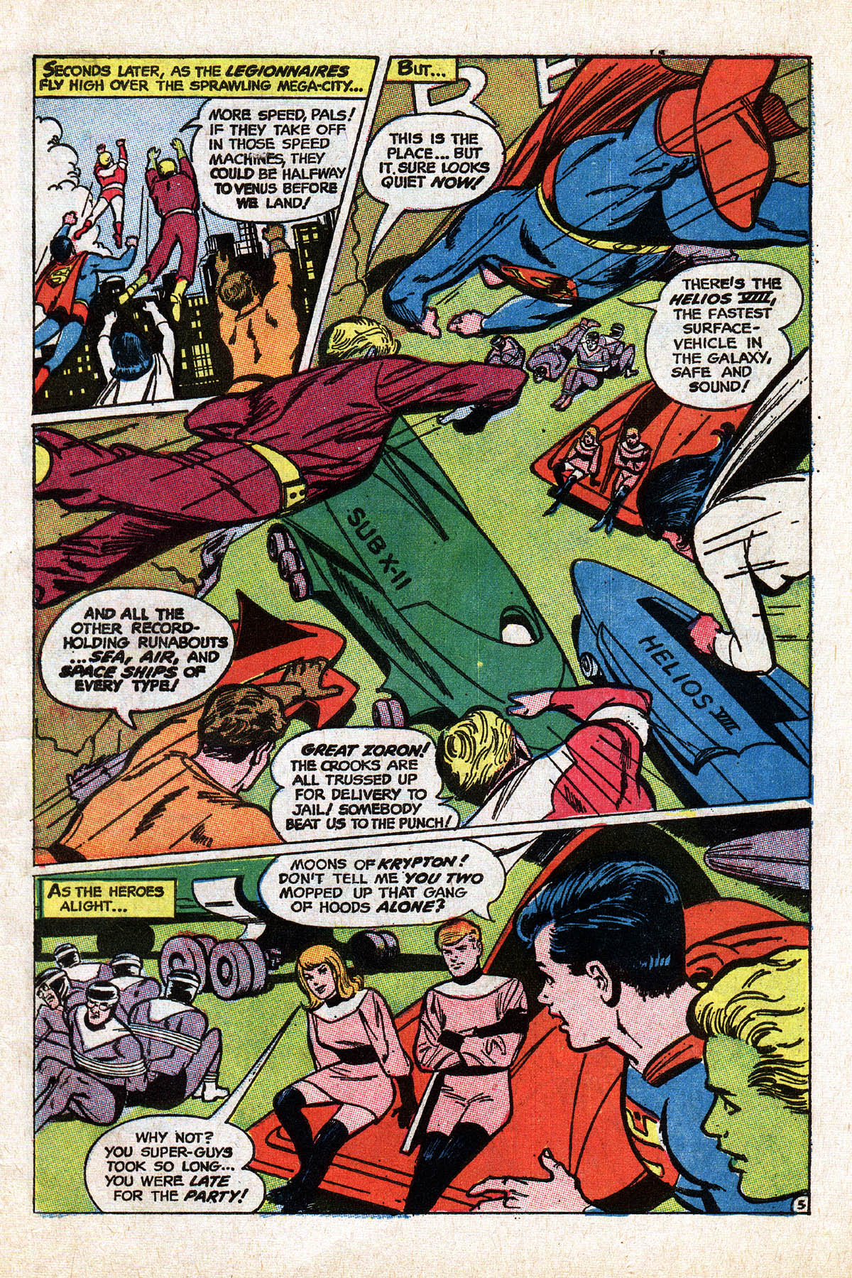 Read online Adventure Comics (1938) comic -  Issue #373 - 7