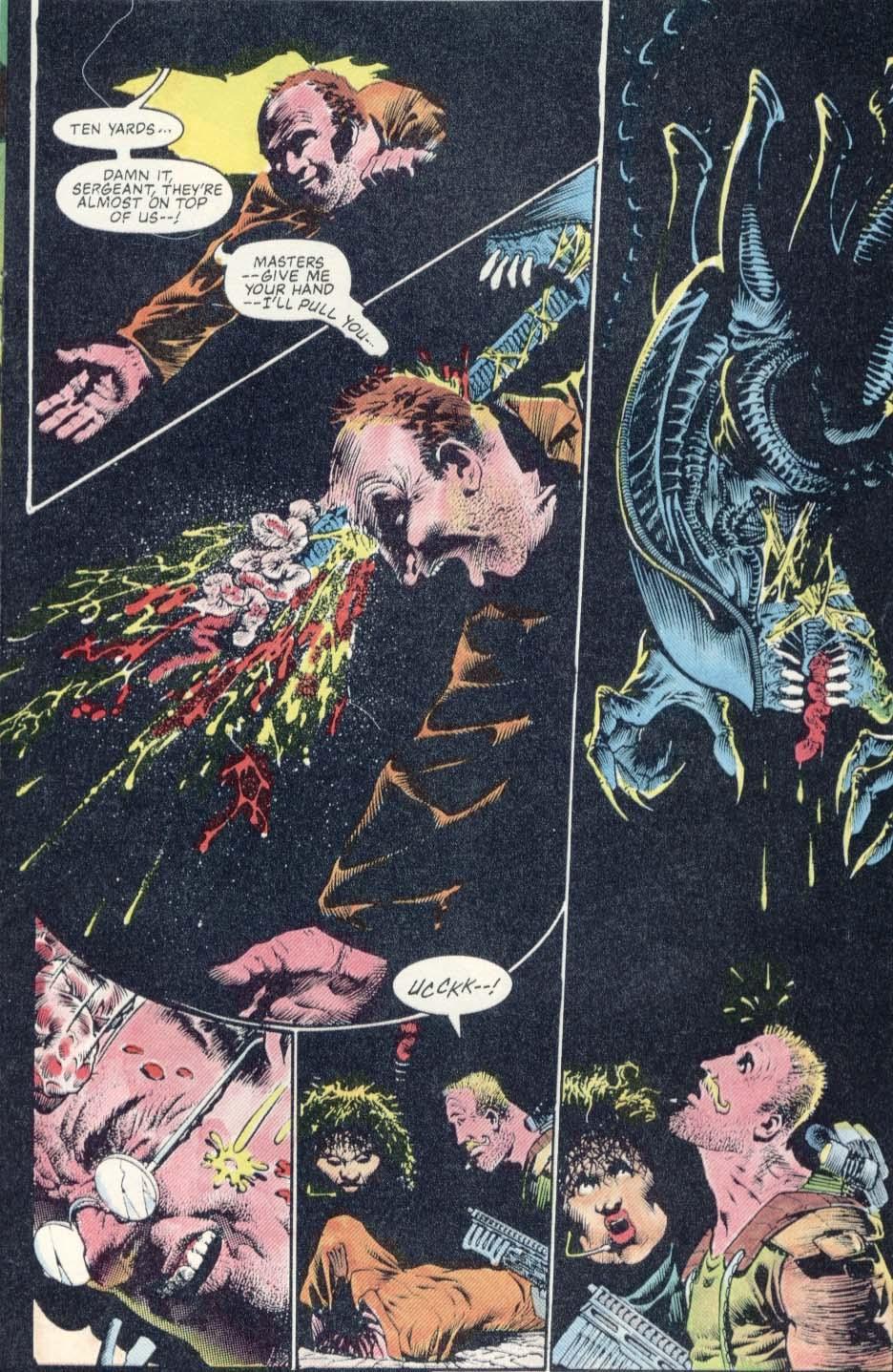 Read online Aliens: Earth War comic -  Issue #1 - 21