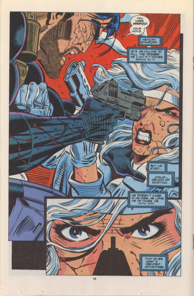 Read online Silver Sable and the Wild Pack comic -  Issue #10 - 13