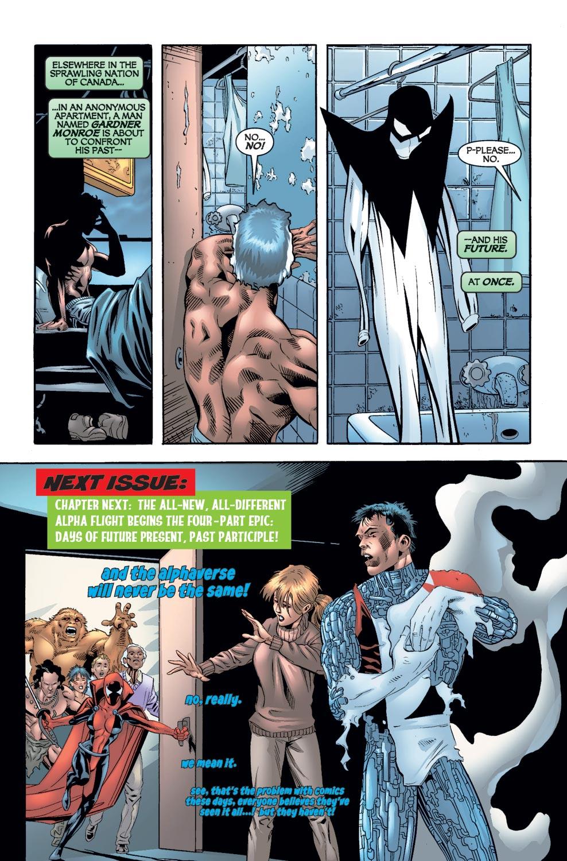 Read online Alpha Flight (2004) comic -  Issue #8 - 22