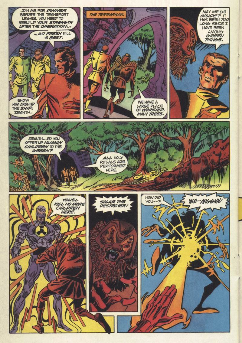 Read online Solar, Man of the Atom comic -  Issue #34 - 16