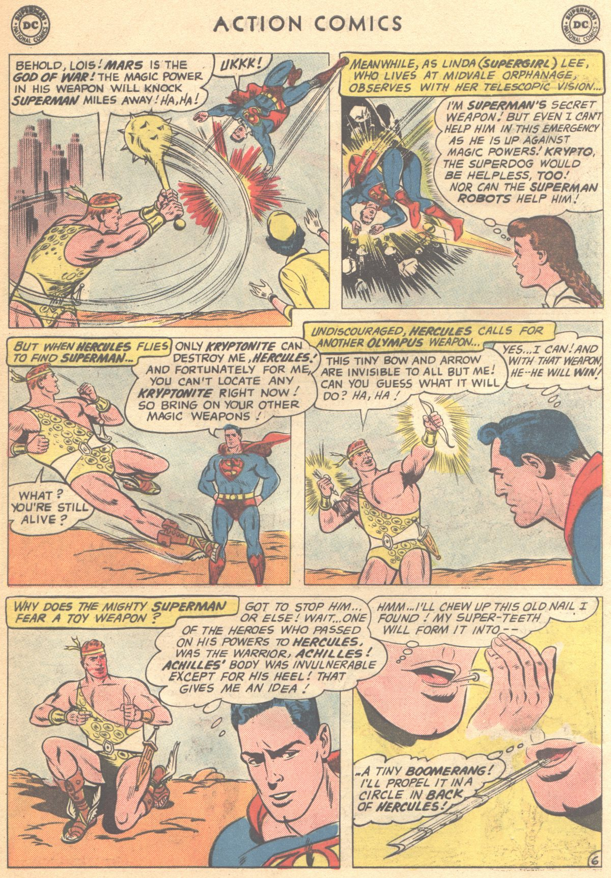 Read online Action Comics (1938) comic -  Issue #268 - 8