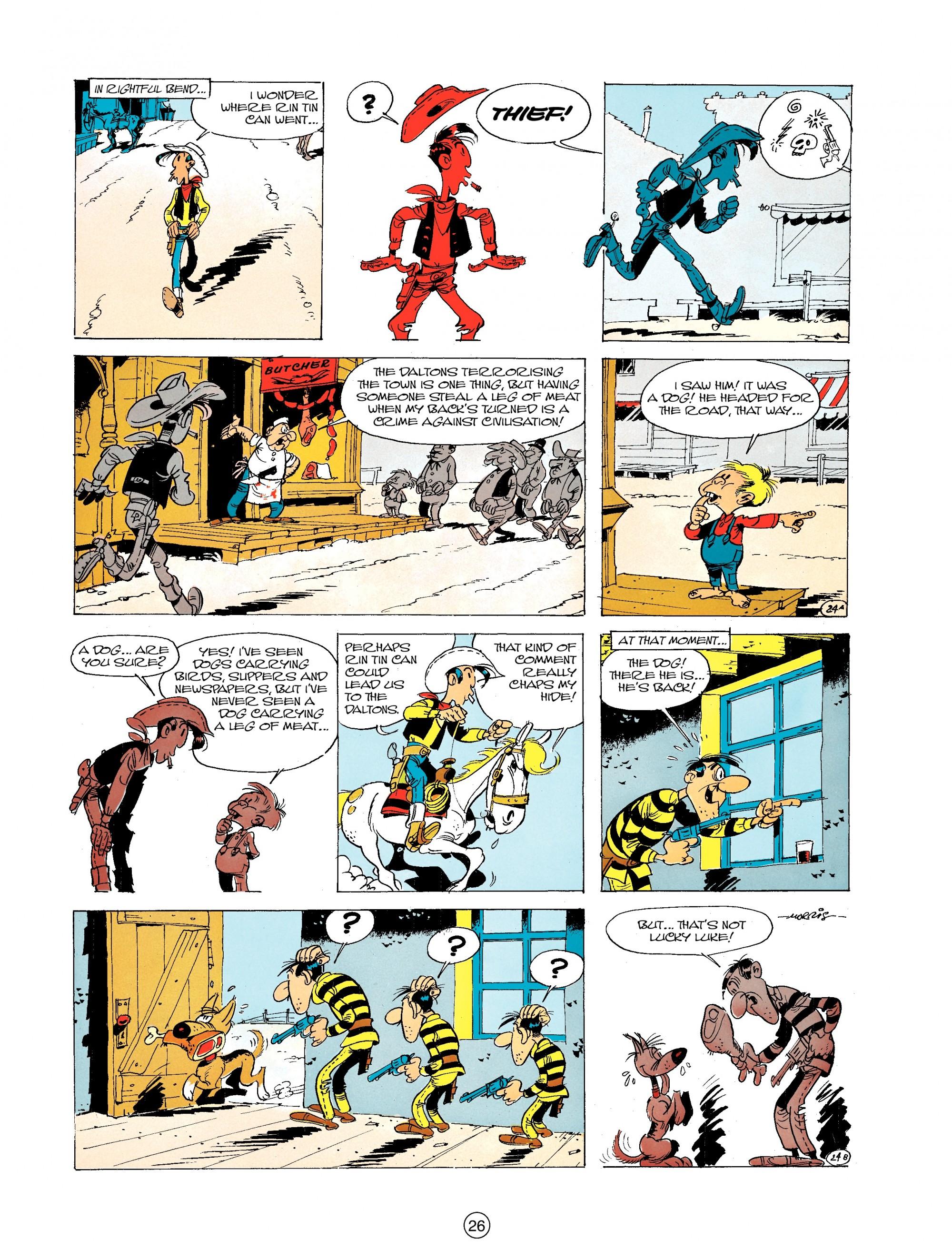 Read online A Lucky Luke Adventure comic -  Issue #19 - 26