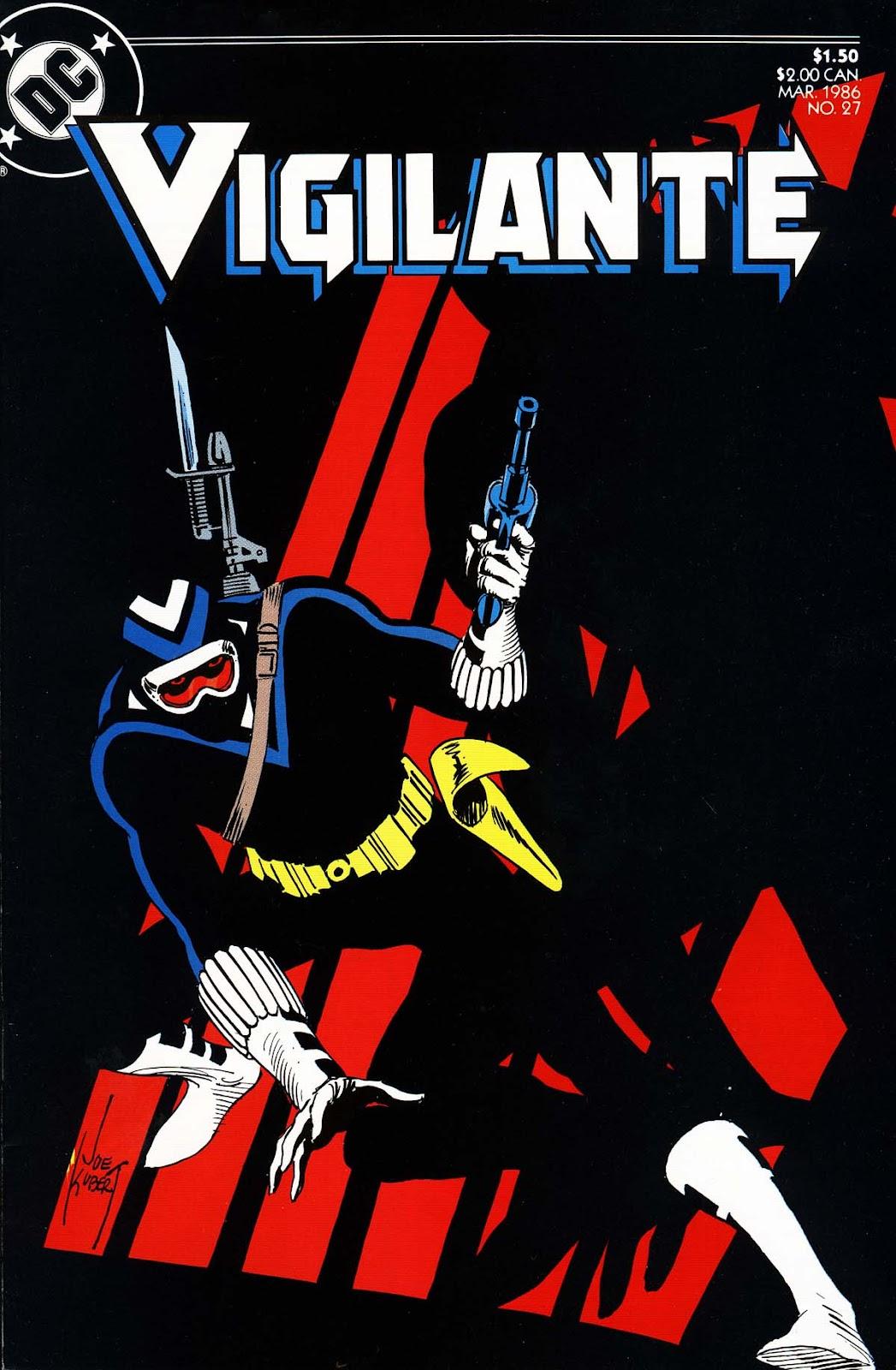 Vigilante (1983) issue 27 - Page 1