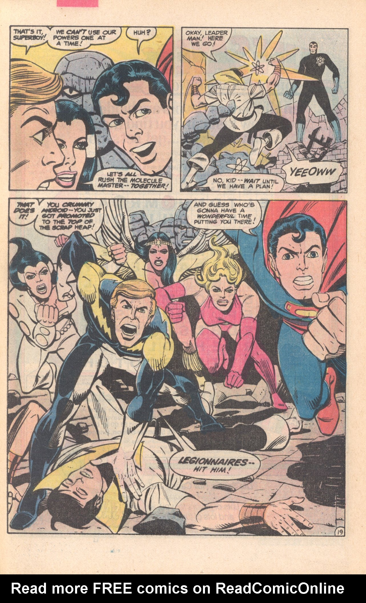 Legion of Super-Heroes (1980) 281 Page 19