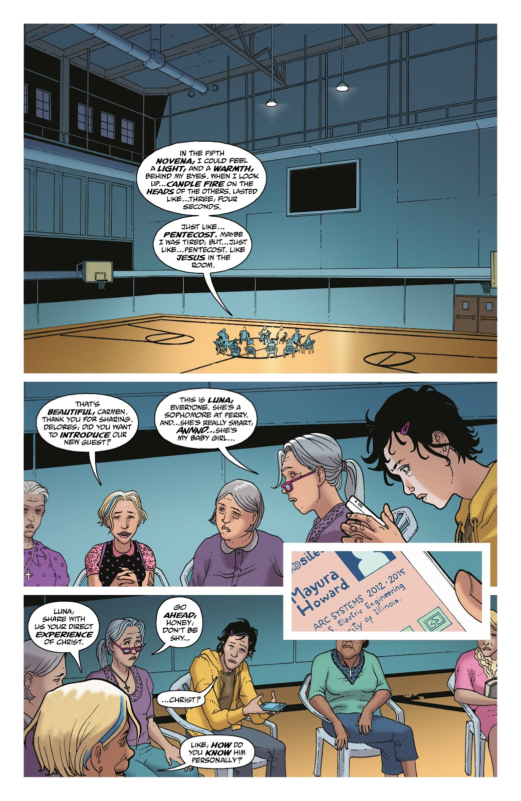 Read online She Could Fly comic -  Issue # _TPB - 52