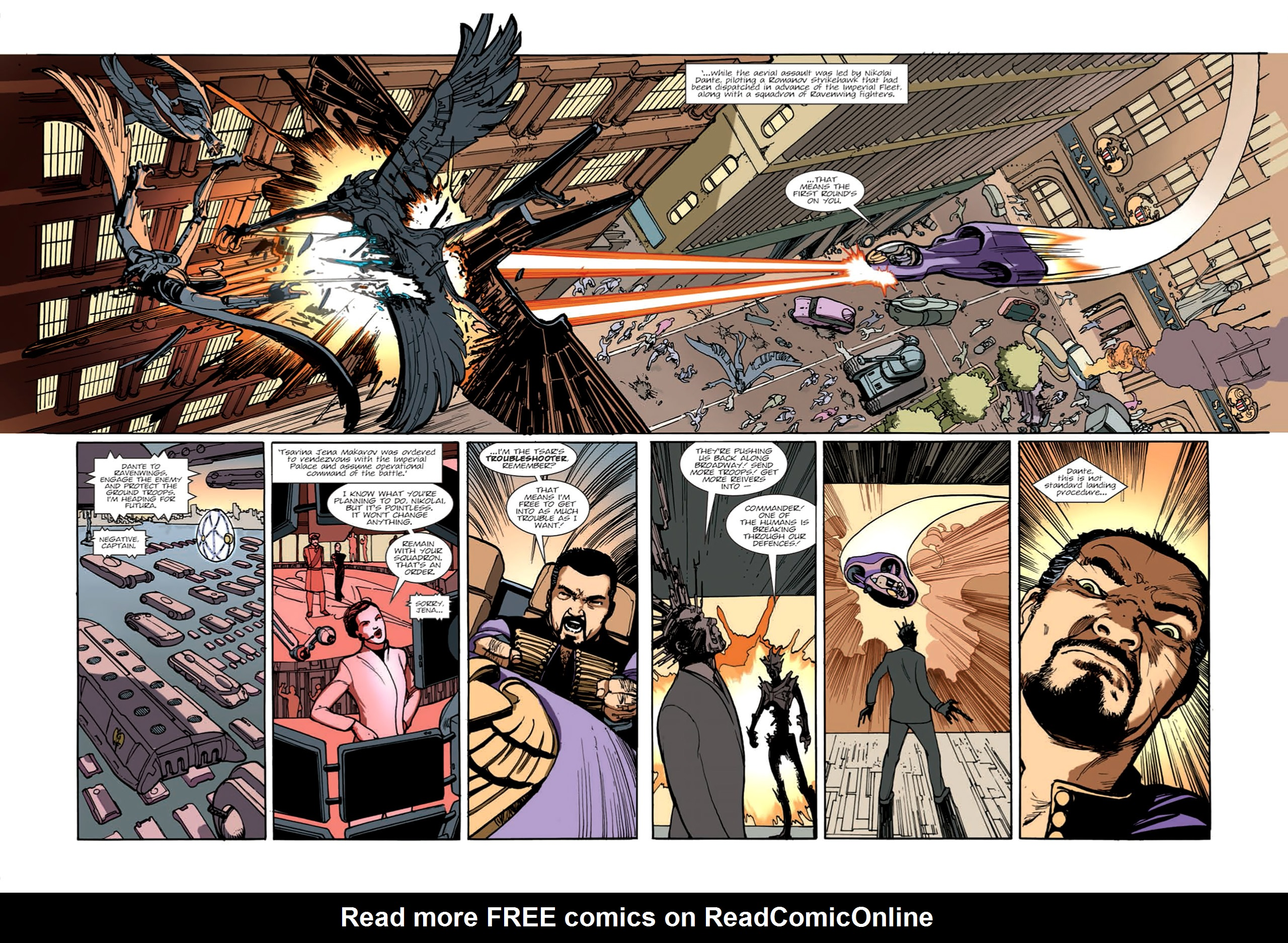 Read online Nikolai Dante comic -  Issue # TPB 9 - 61