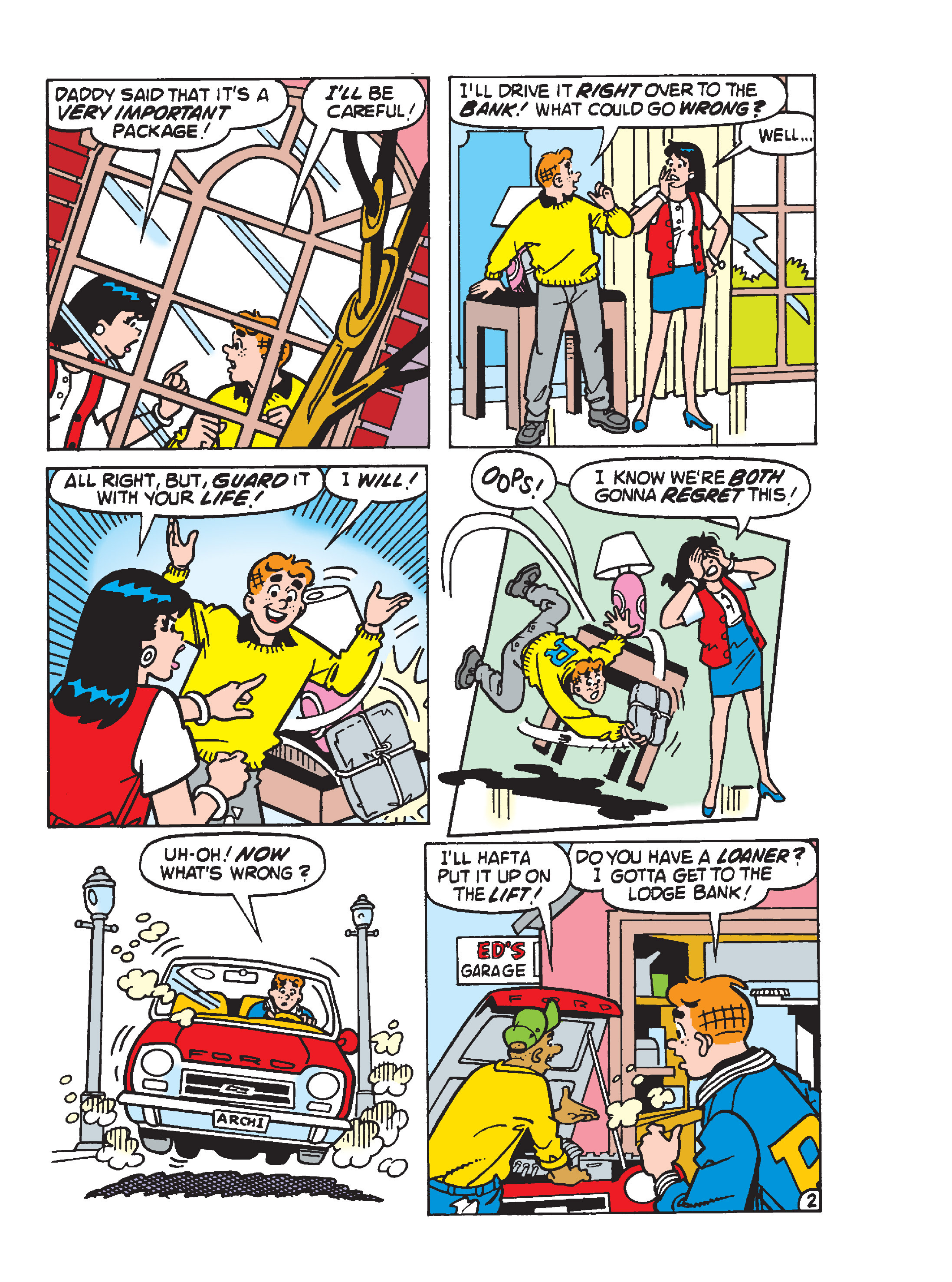 Read online Archie 1000 Page Comics Blowout! comic -  Issue # TPB (Part 3) - 115