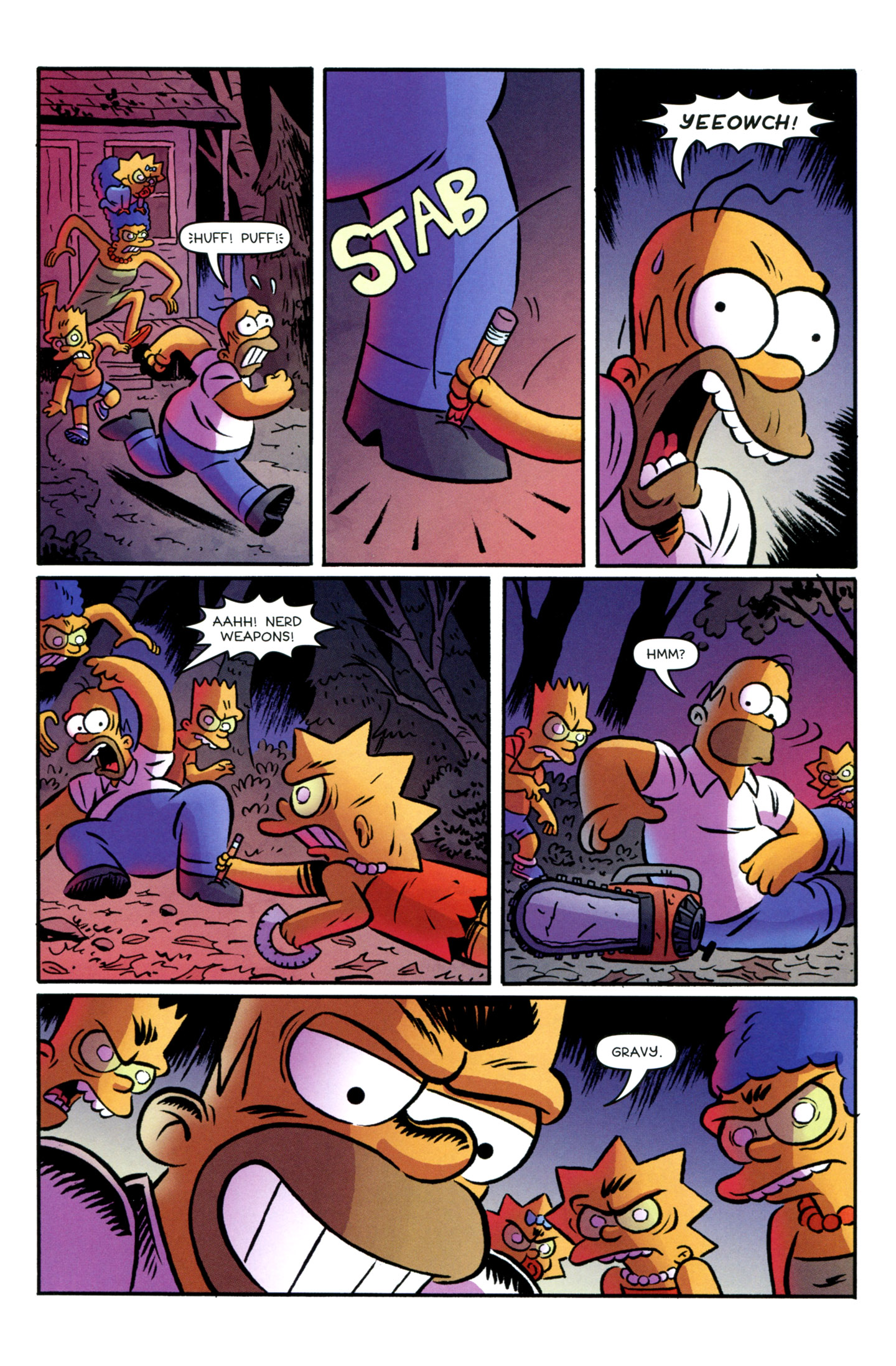 Read online Treehouse of Horror comic -  Issue #18 - 13