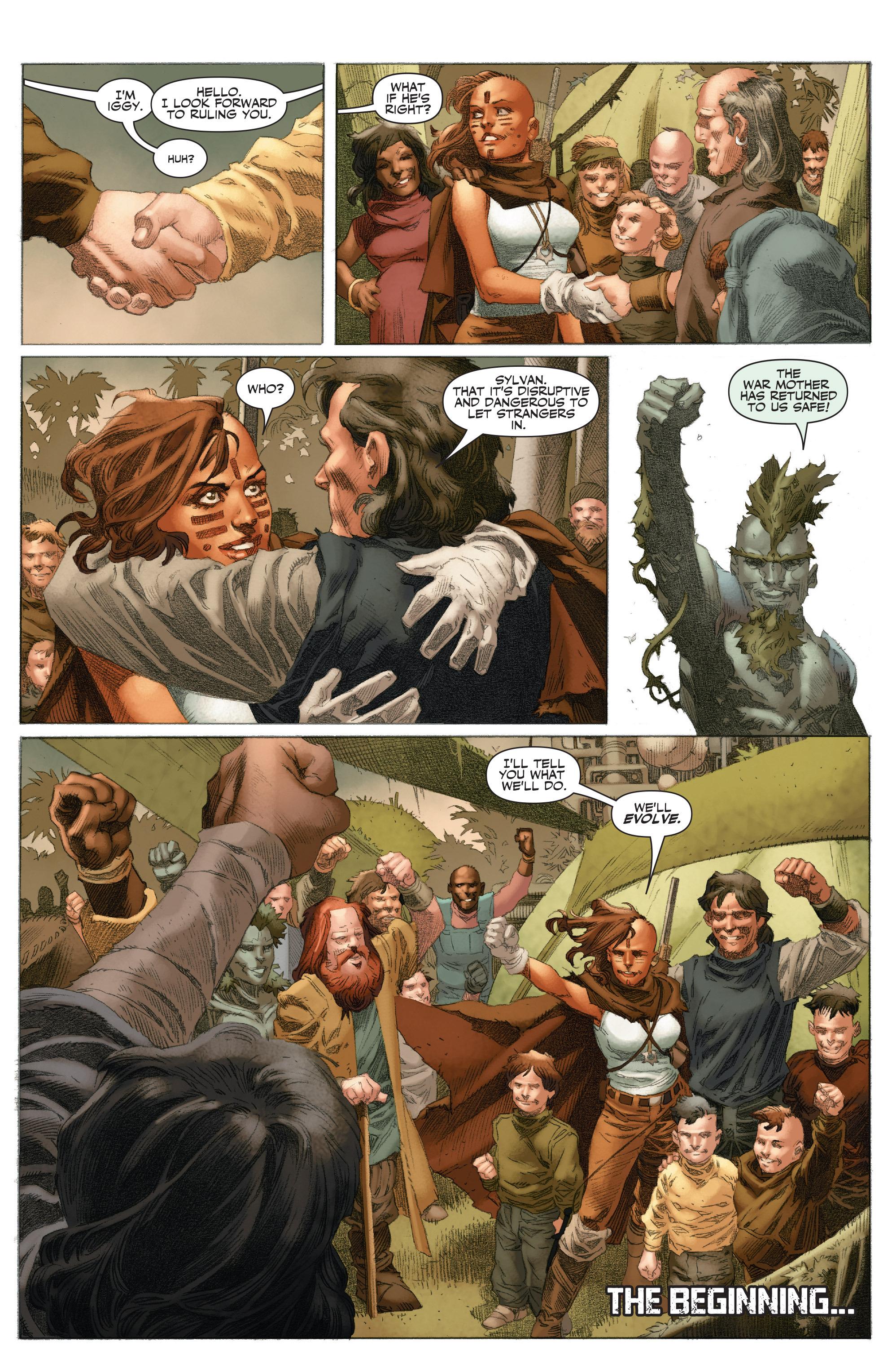 Read online 4001 A.D.: War Mother comic -  Issue #4001 A.D.: War Mother Full - 29