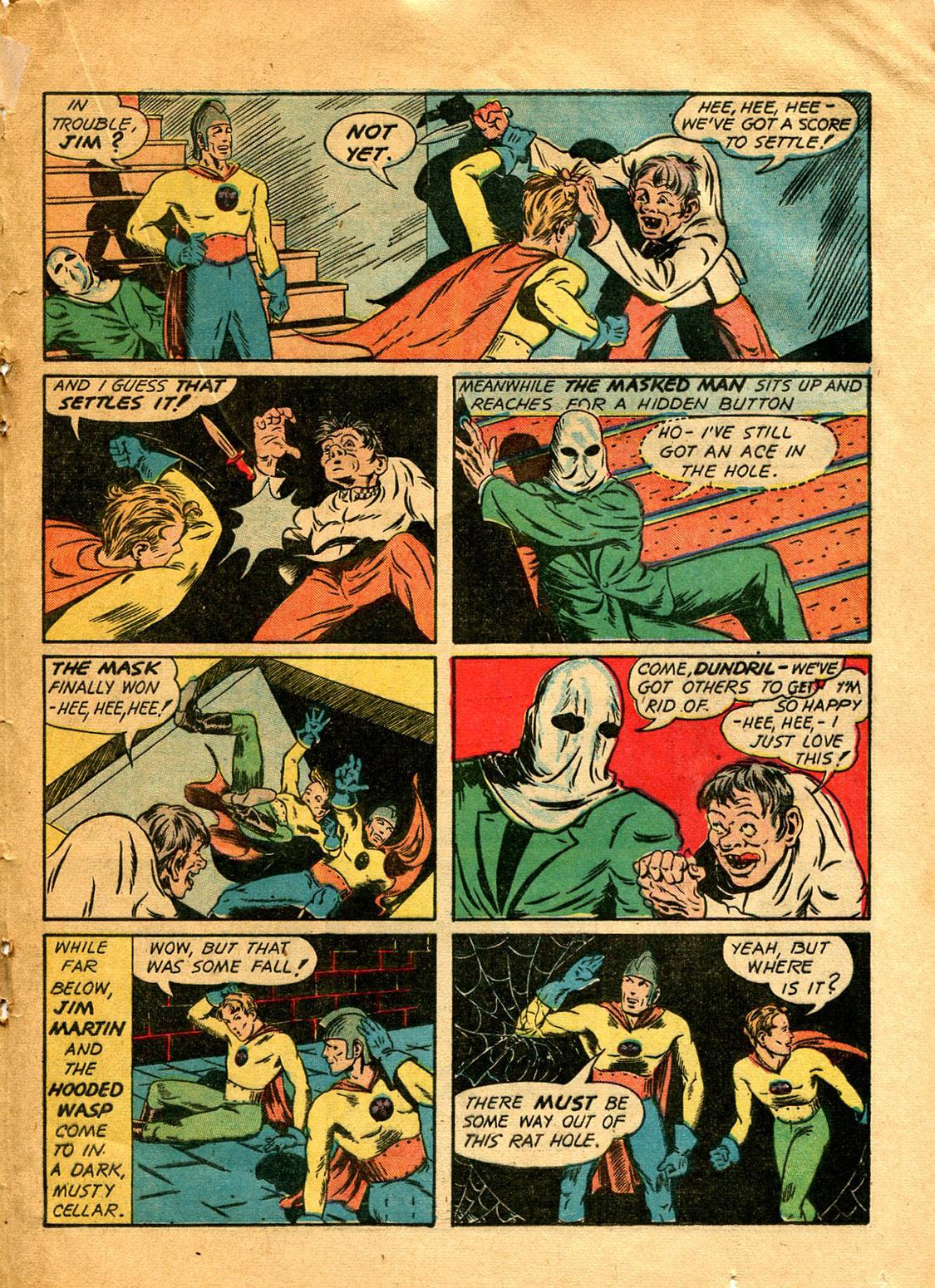Read online Shadow Comics comic -  Issue #9 - 41