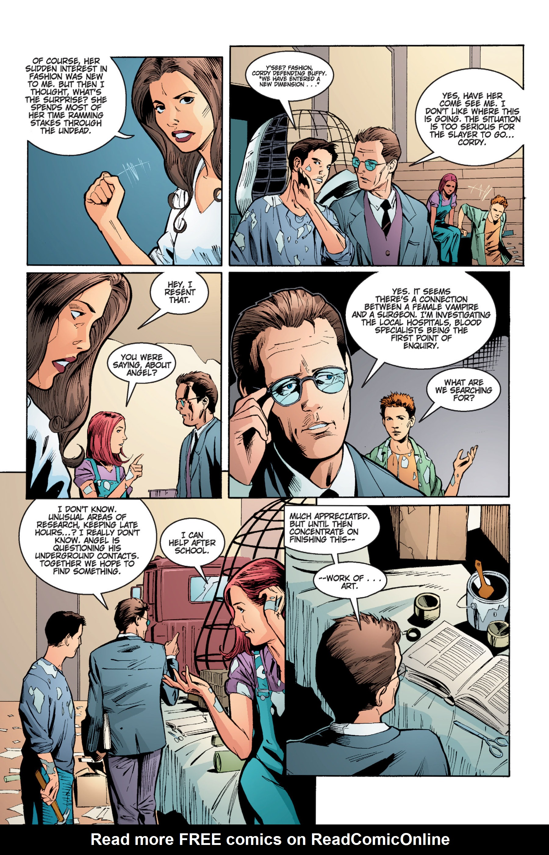 Read online Buffy the Vampire Slayer: Omnibus comic -  Issue # TPB 4 - 169