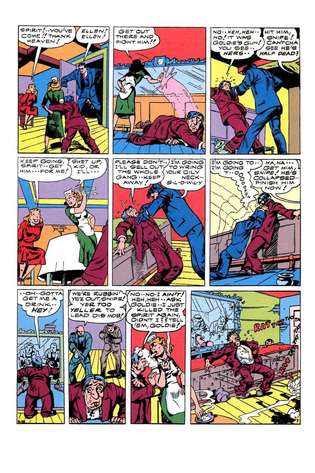 Read online Will Eisner's The Spirit Archives comic -  Issue # TPB 3 (Part 2) - 4