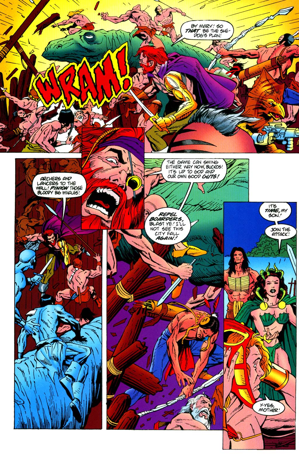 Read online Turok, Dinosaur Hunter (1993) comic -  Issue #46 - 11
