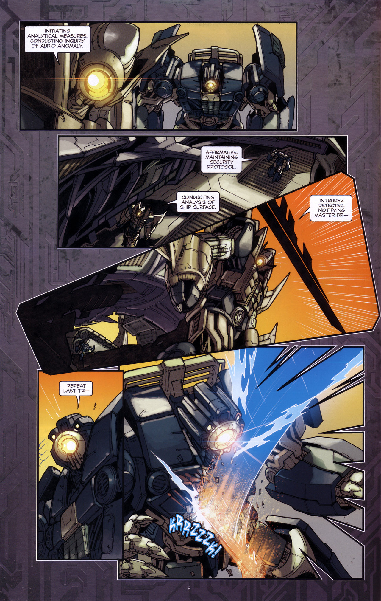 Read online Transformers: The Reign of Starscream comic -  Issue #4 - 10