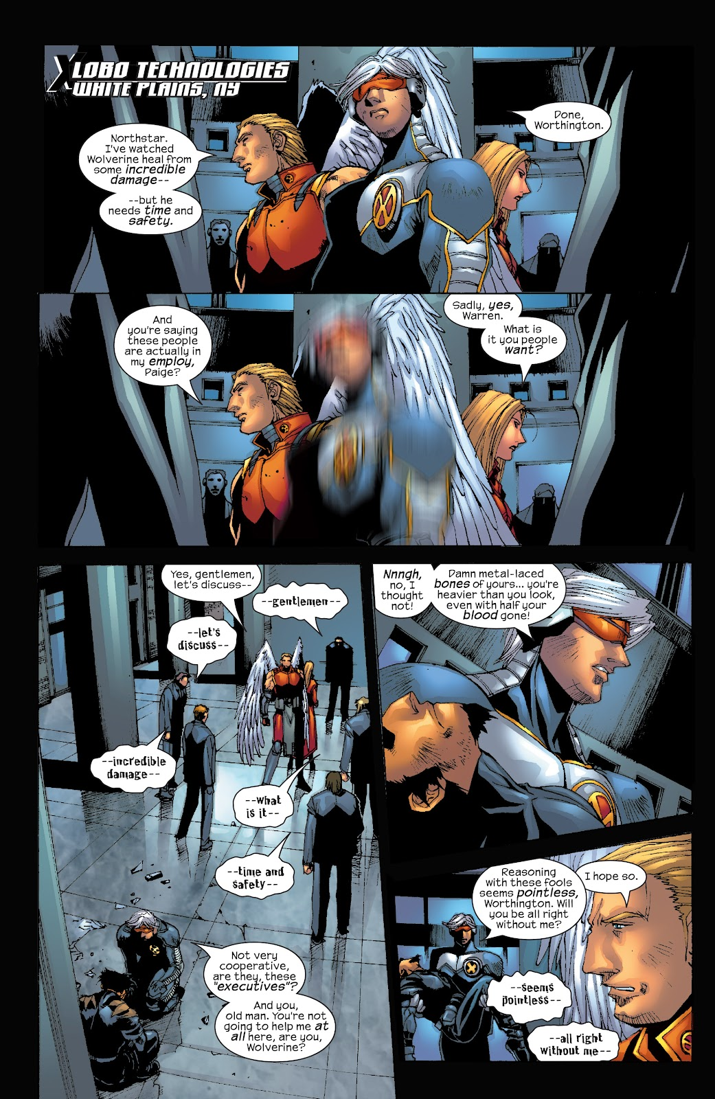 Read online X-Men: Unstoppable comic -  Issue # TPB (Part 3) - 24