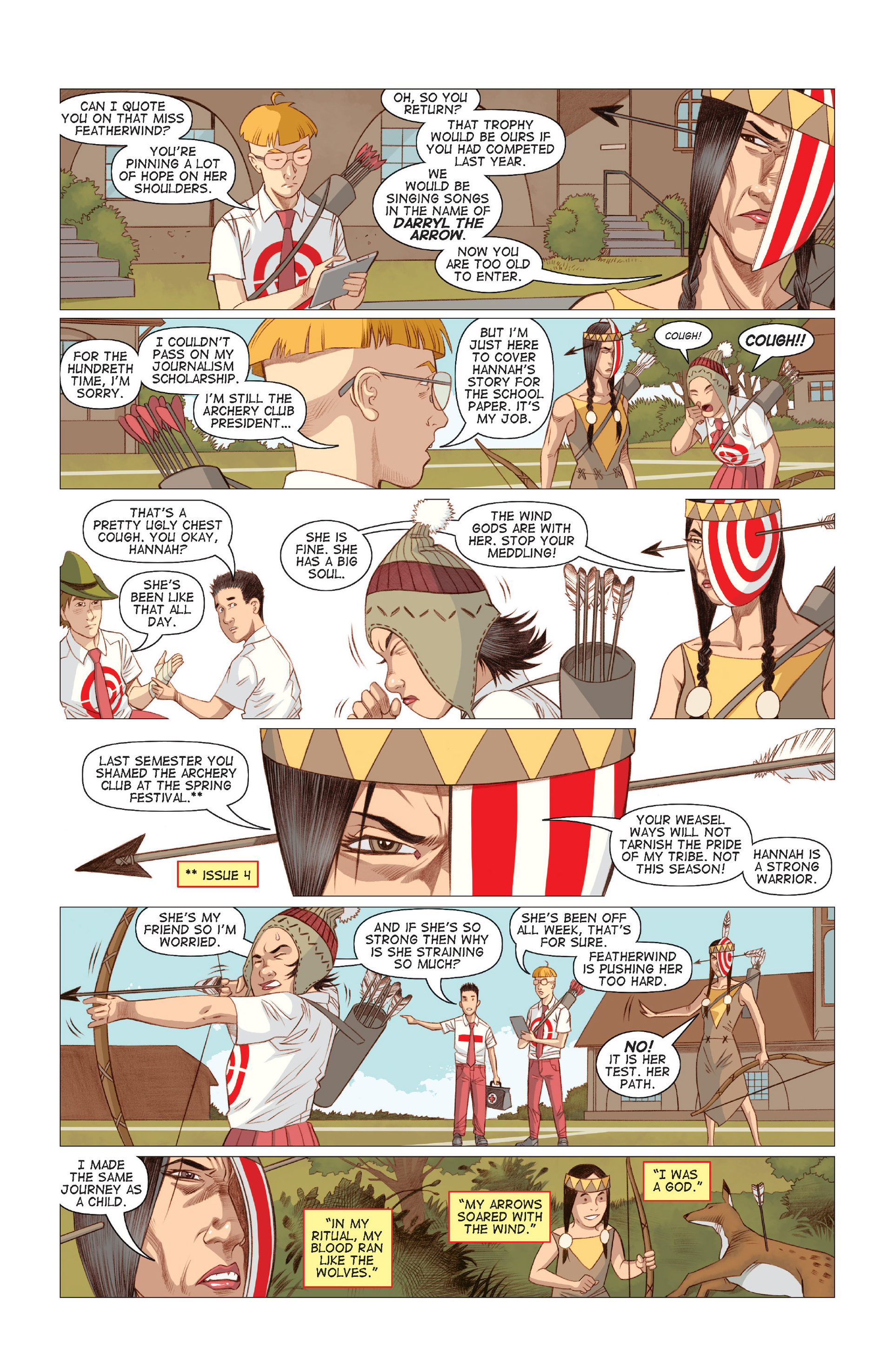 Read online Five Weapons comic -  Issue #7 - 22