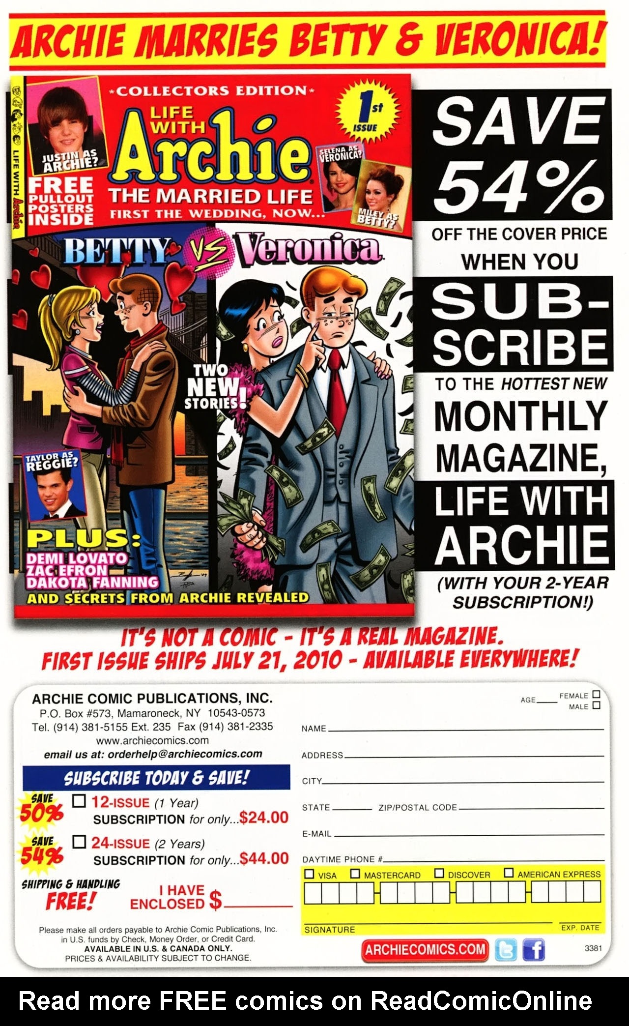 Read online Archie (1960) comic -  Issue #612 - 13