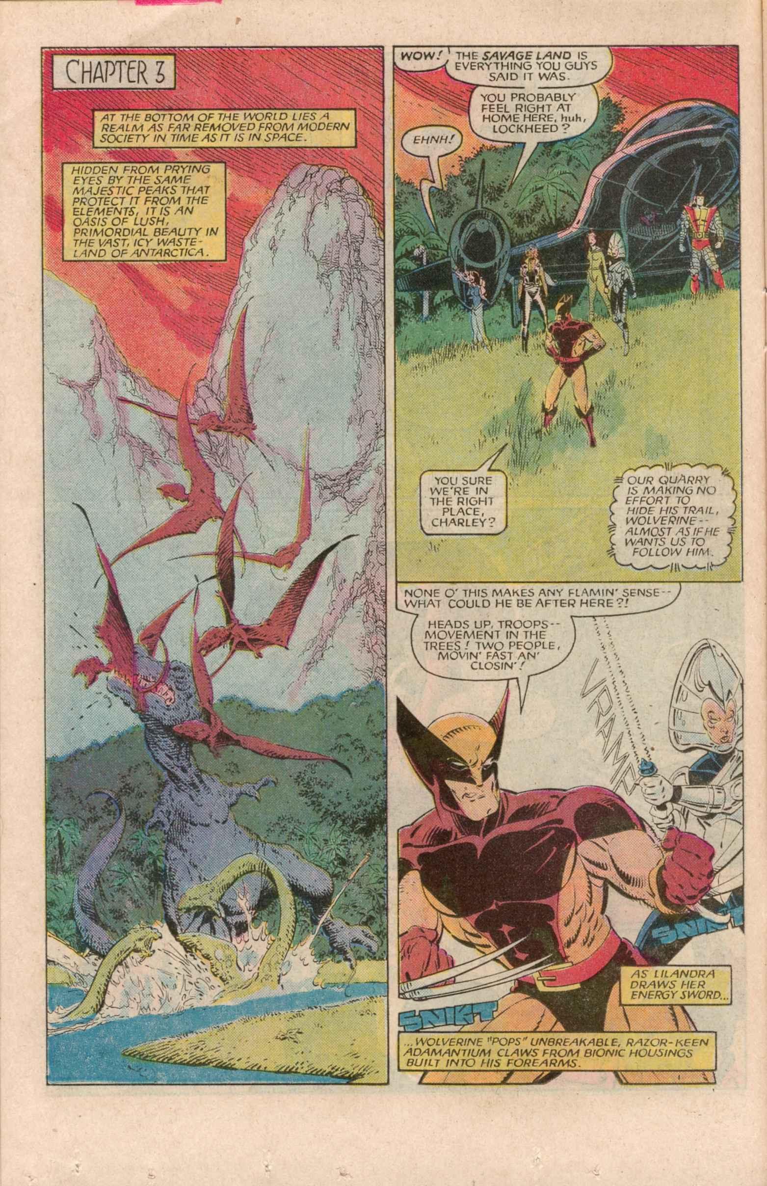 Read online Uncanny X-Men (1963) comic -  Issue # _Annual 7 - 13