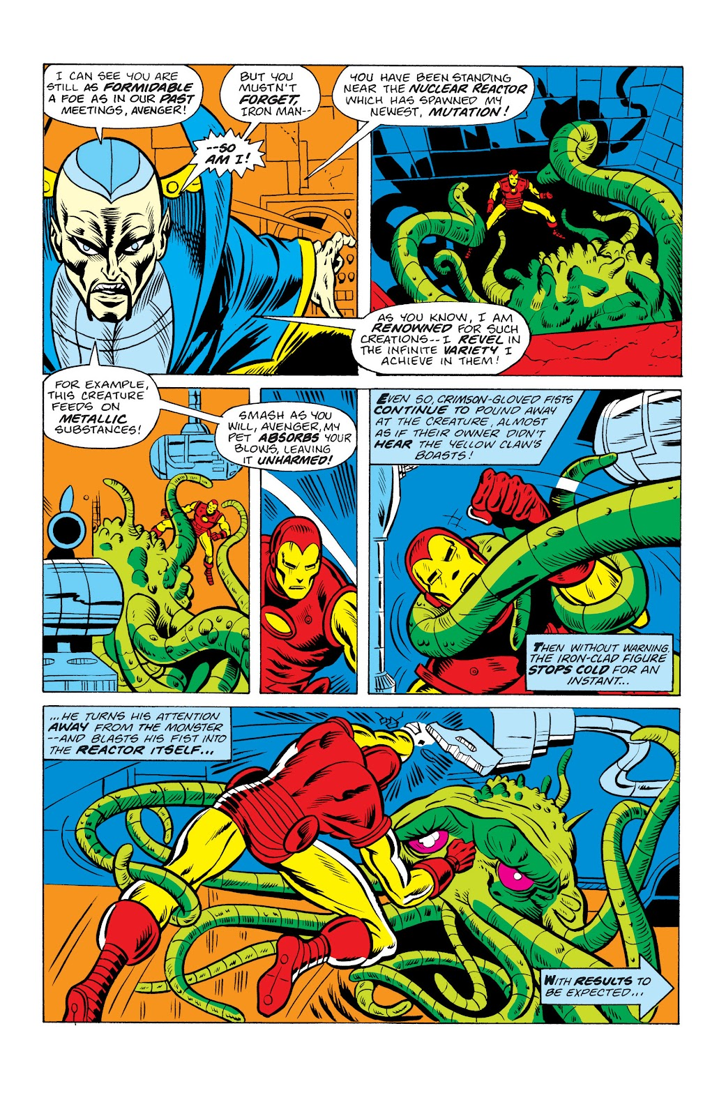 Read online Marvel Masterworks: The Invincible Iron Man comic -  Issue # TPB 10 (Part 2) - 48