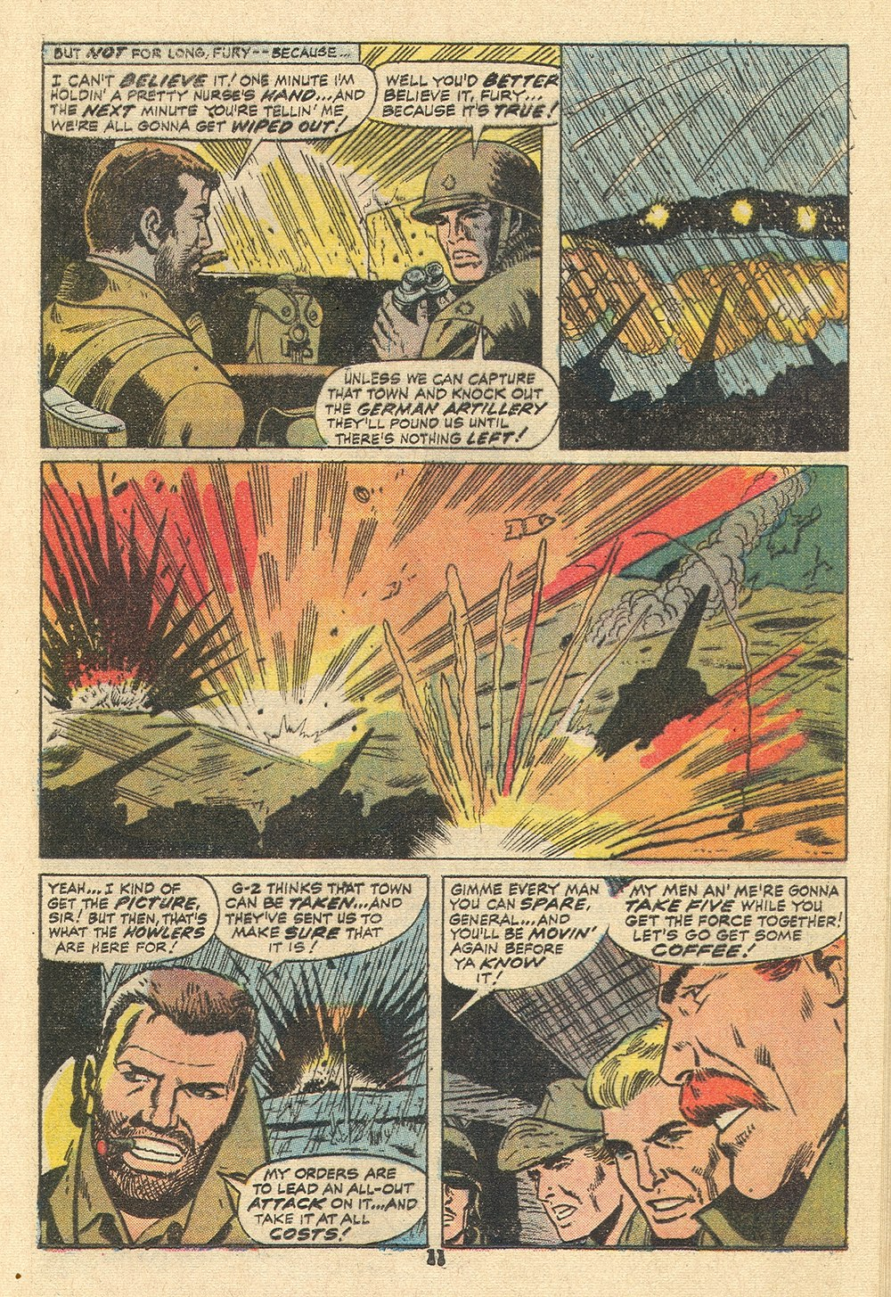 Read online Sgt. Fury comic -  Issue #110 - 13