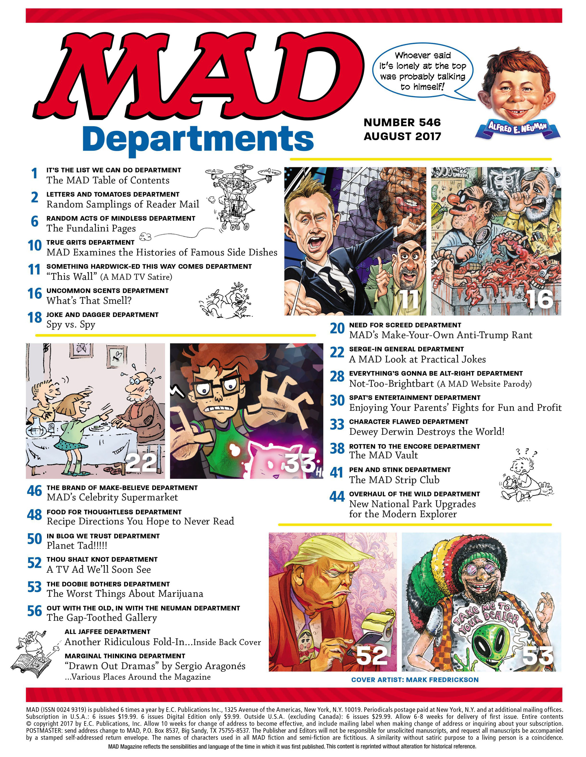 Read online MAD comic -  Issue #546 - 3