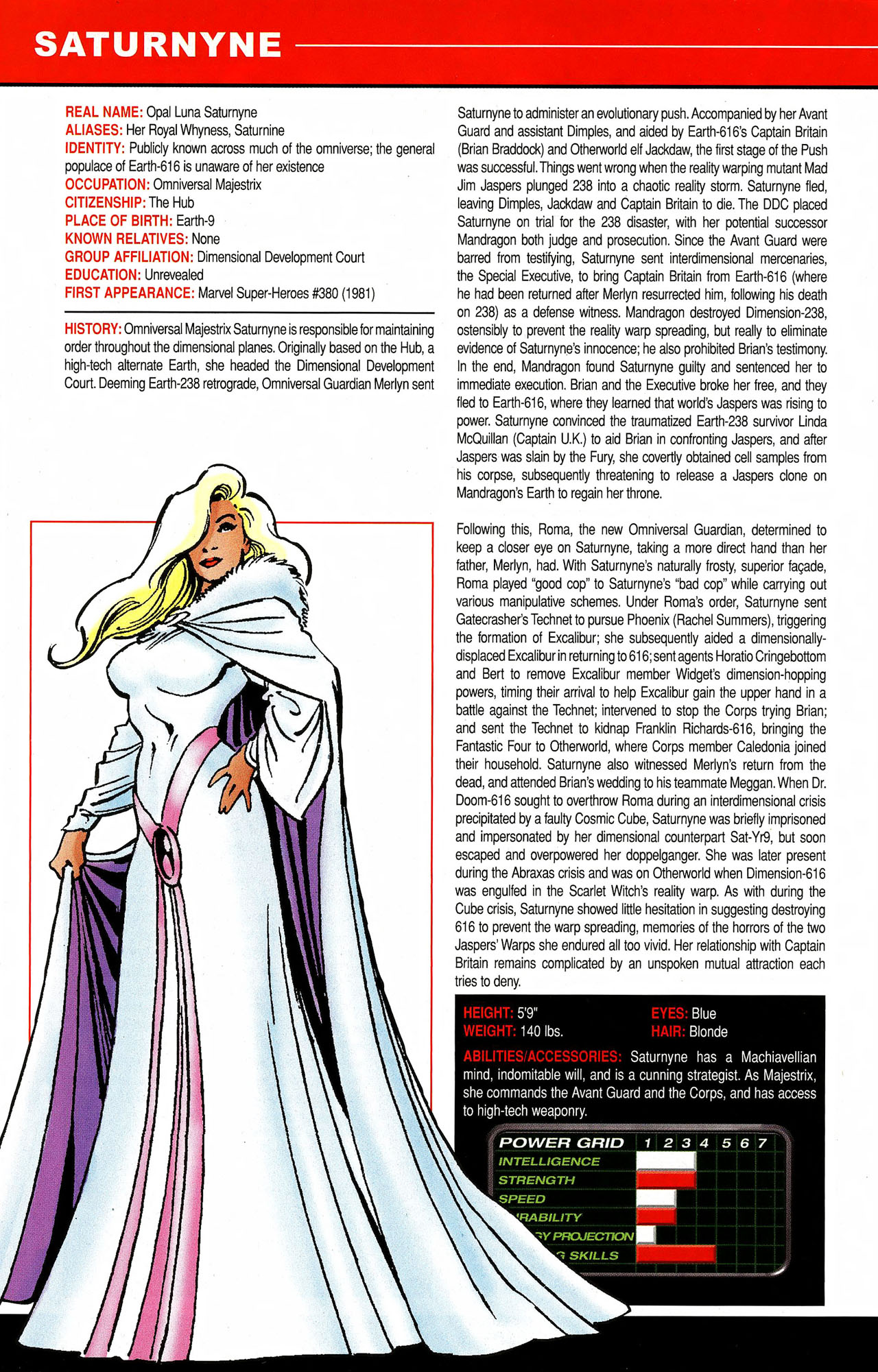 Read online All-New Official Handbook of the Marvel Universe A to Z comic -  Issue #9 - 44