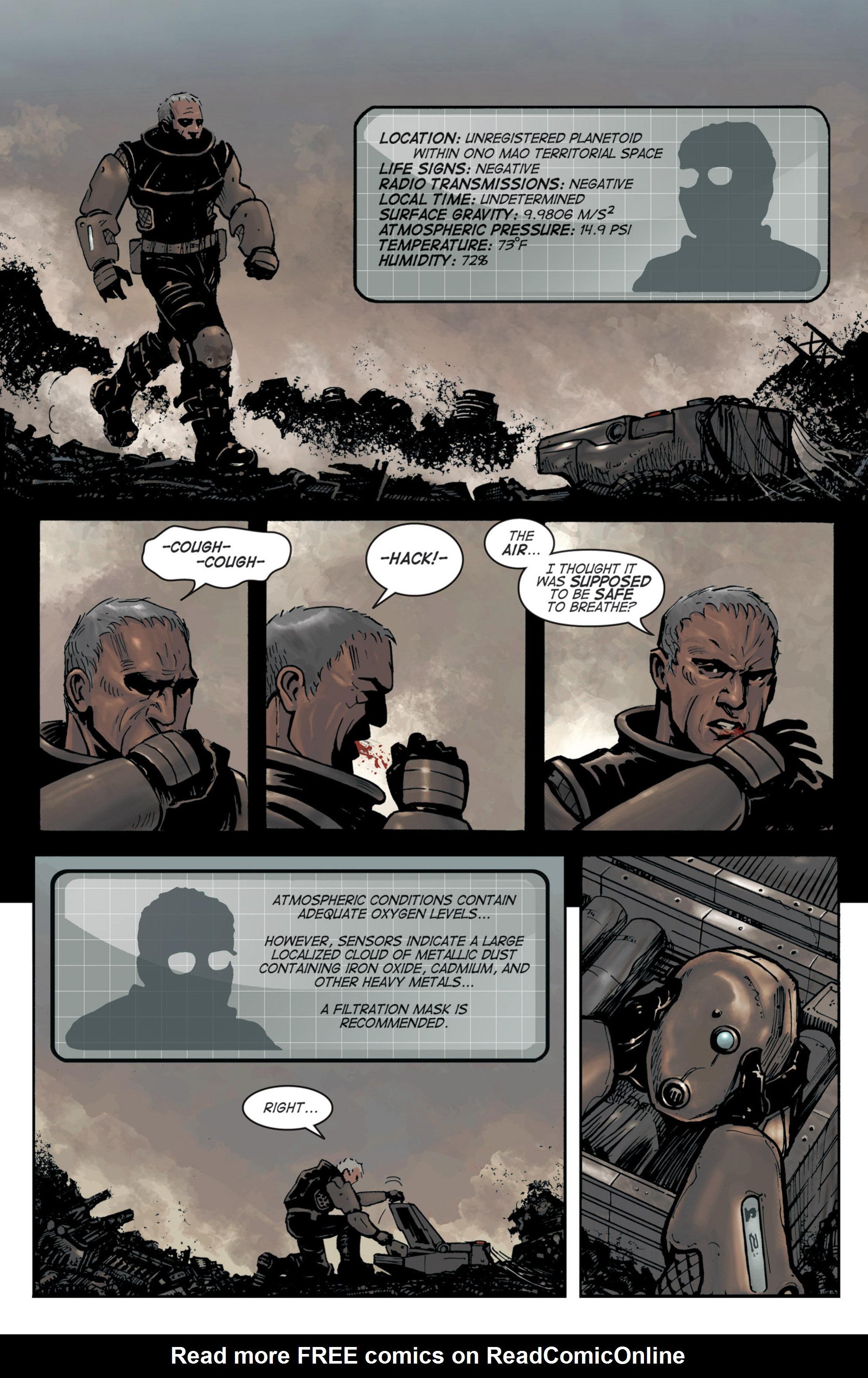 Read online Planetoid comic -  Issue # TPB - 12
