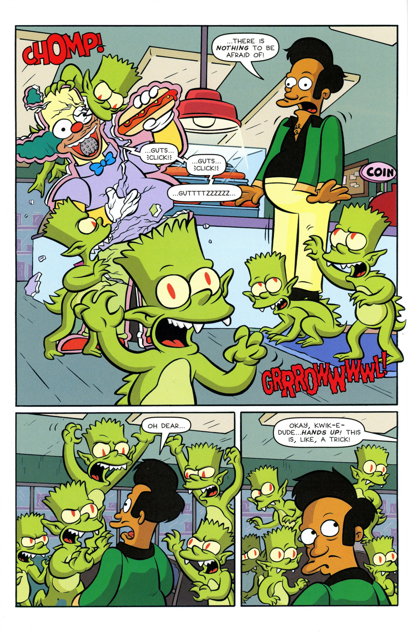 Read online Treehouse of Horror comic -  Issue #21 - 6