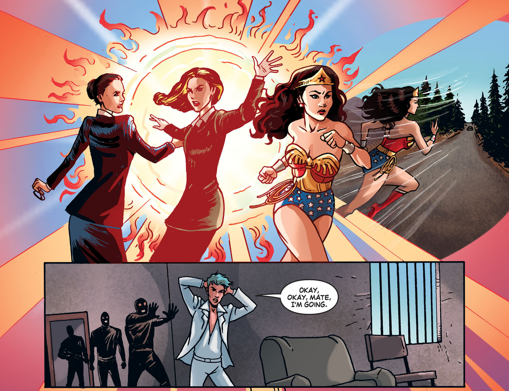 Read online Wonder Woman '77 [I] comic -  Issue #25 - 9