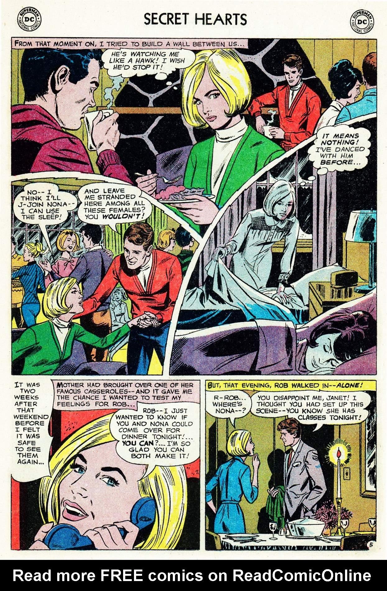 Read online Secret Hearts comic -  Issue #105 - 16