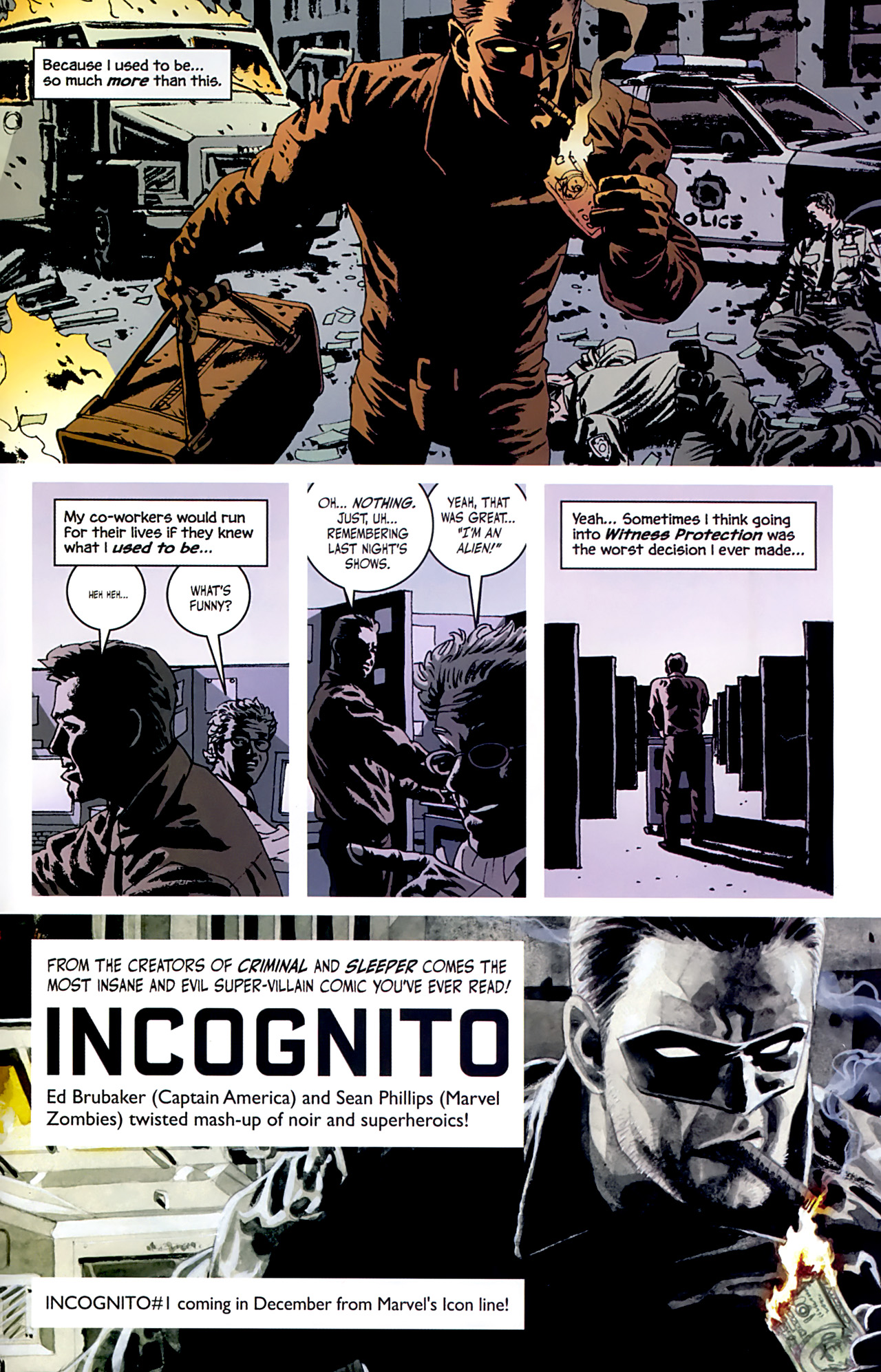 Read online Criminal (2008) comic -  Issue #6 - 32