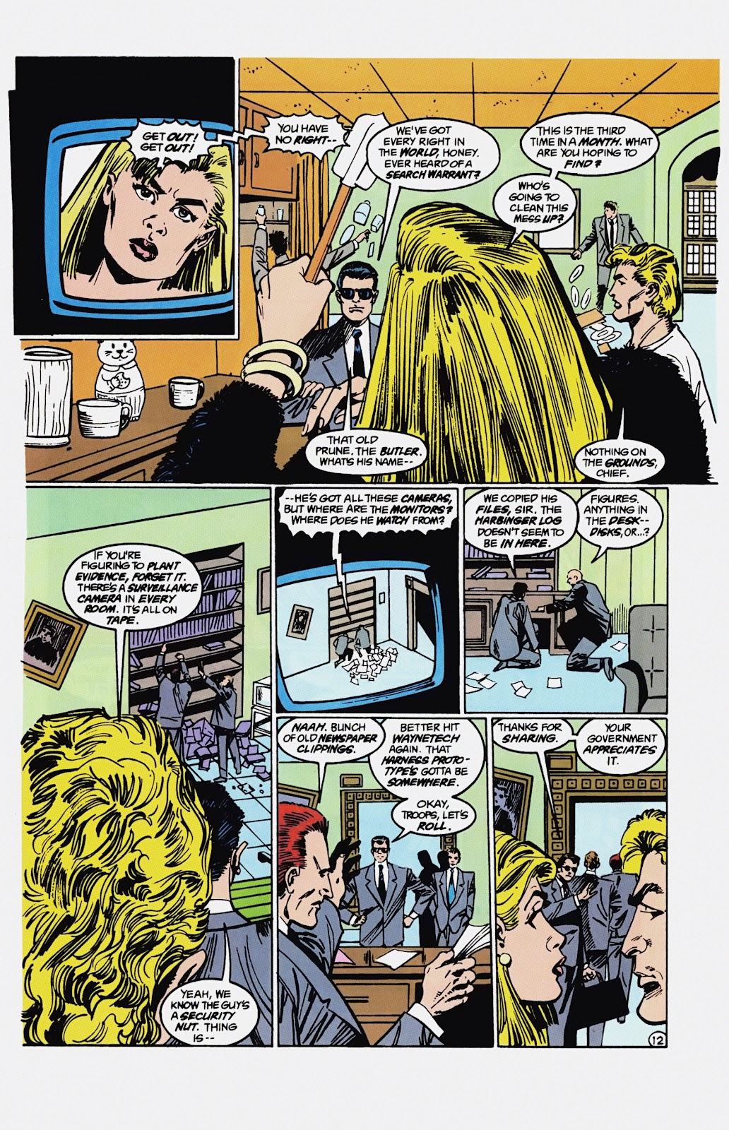 Read online Detective Comics (1937) comic -  Issue # _TPB Batman - Blind Justice (Part 1) - 99
