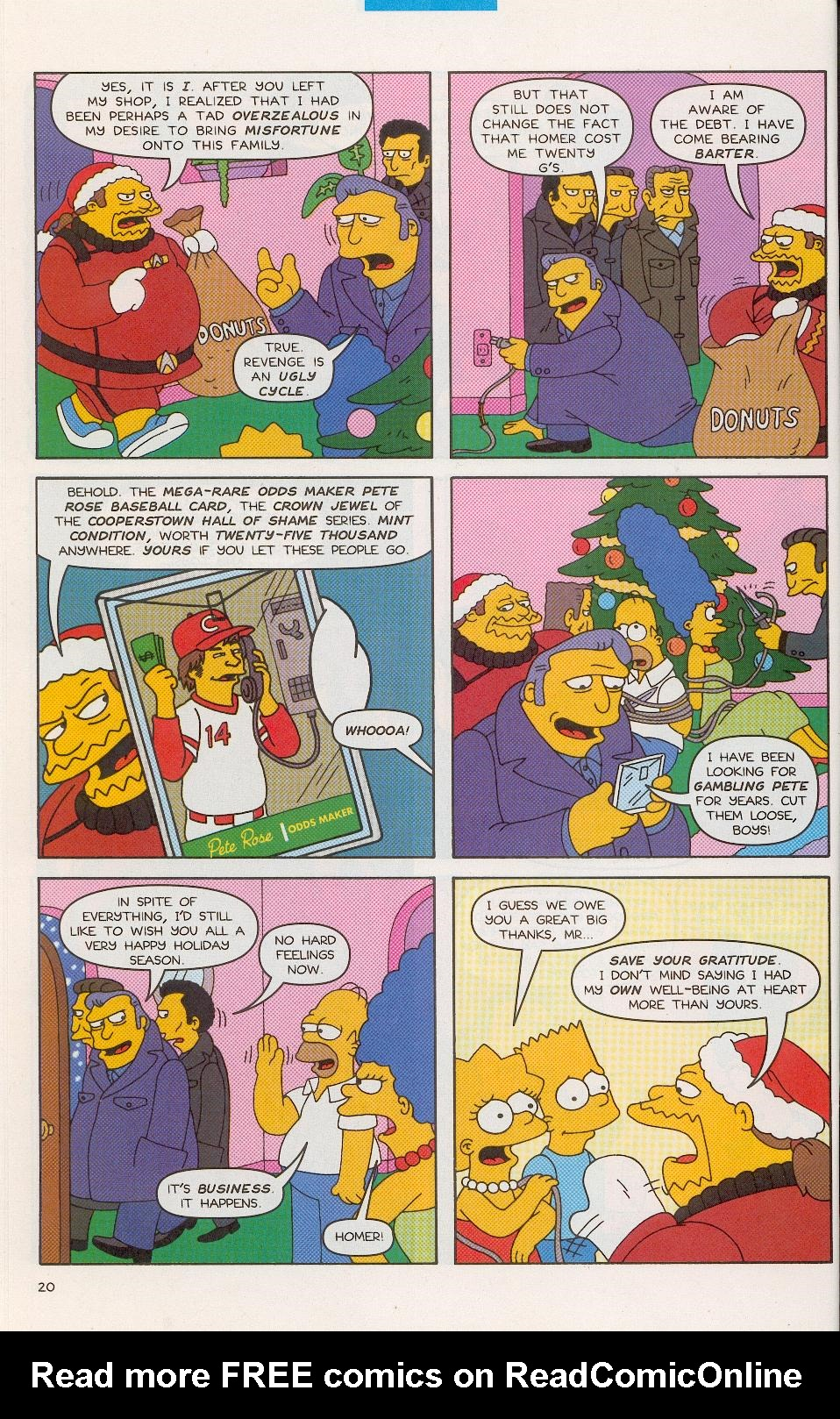 Read online Simpsons Comics comic -  Issue #52 - 21