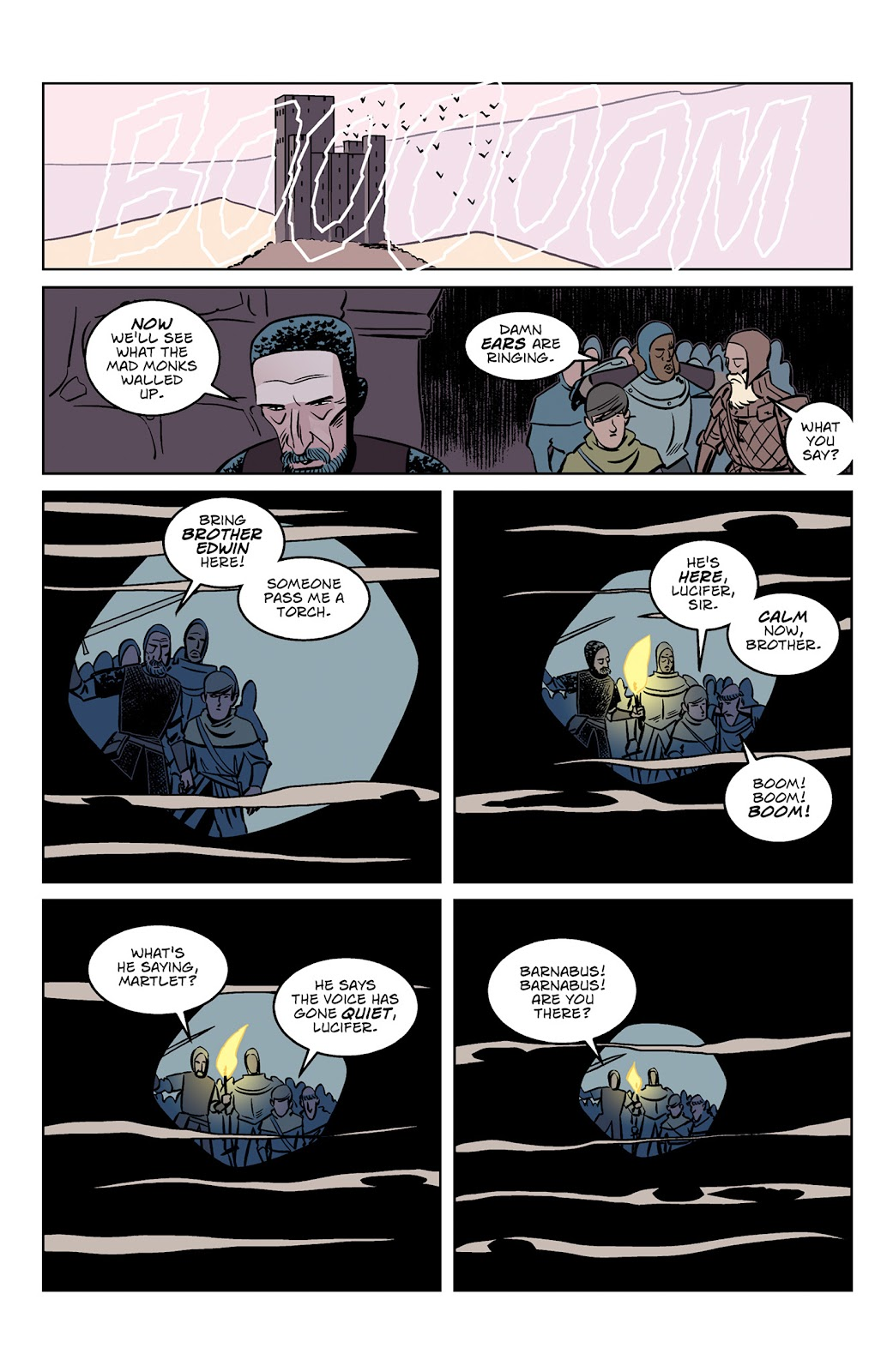Read online Dark Ages comic -  Issue #3 - 4
