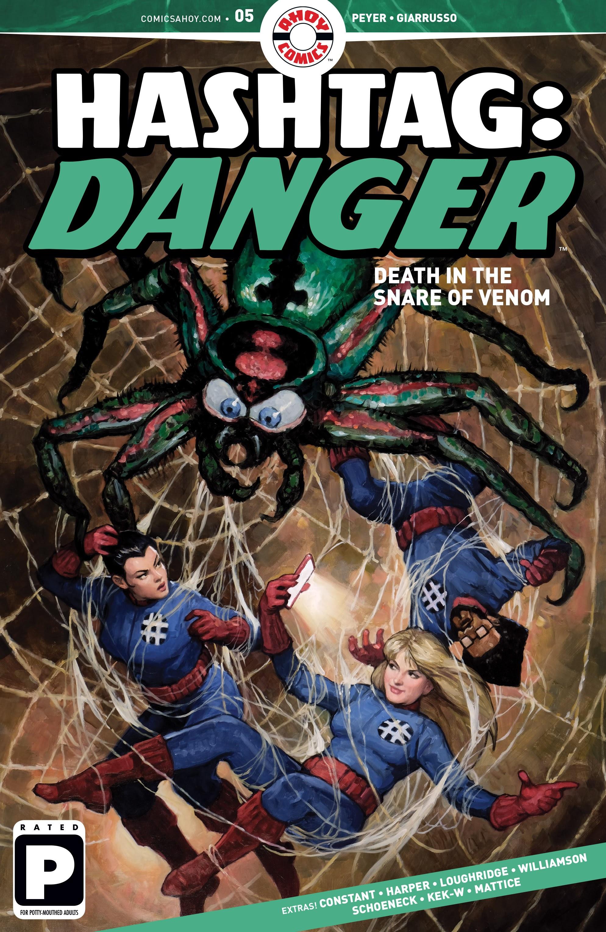 Hashtag Danger 5 Page 1