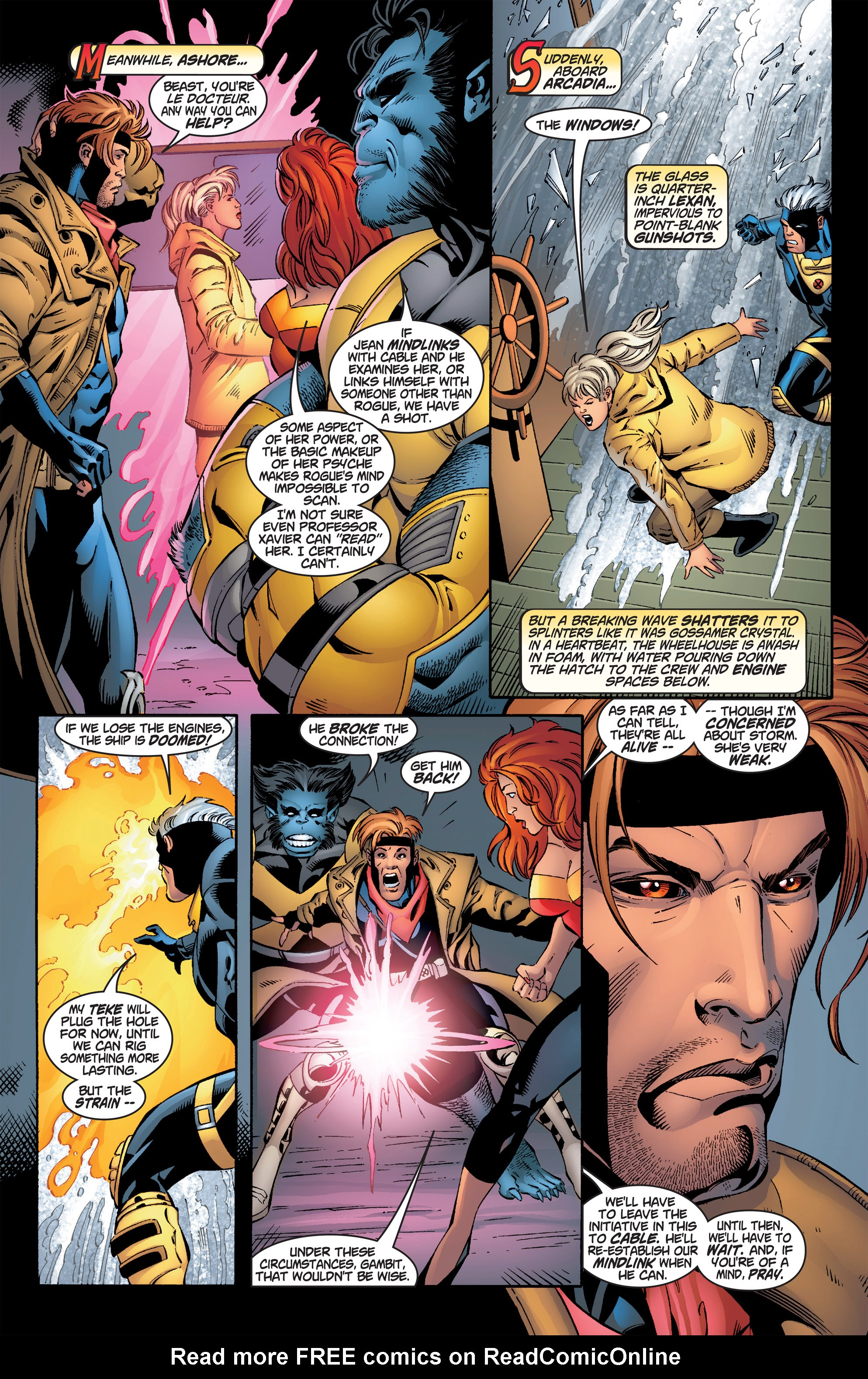 Read online Uncanny X-Men (1963) comic -  Issue #386 - 13