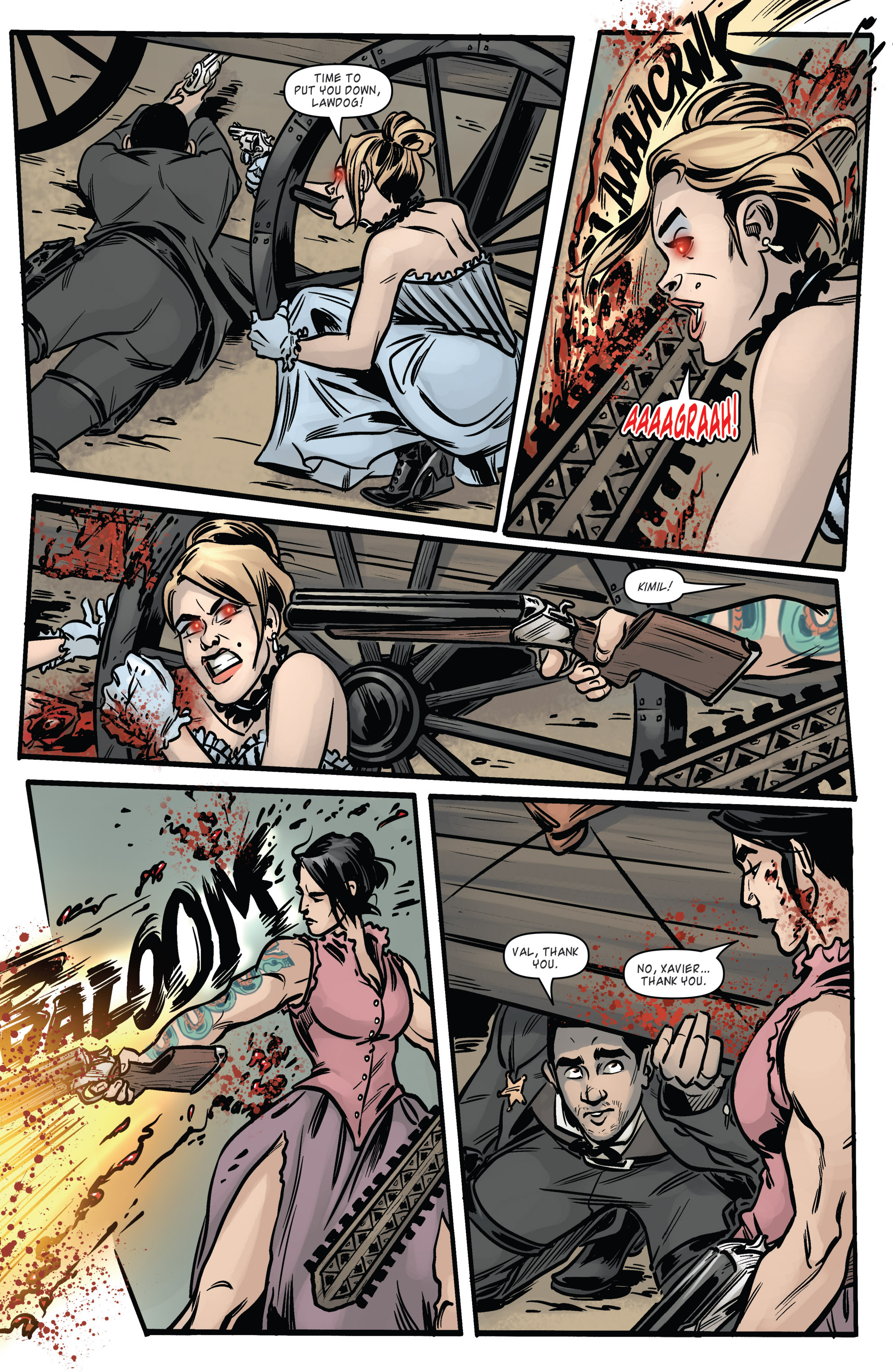 Read online Wynonna Earp (2016) comic -  Issue #6 - 13