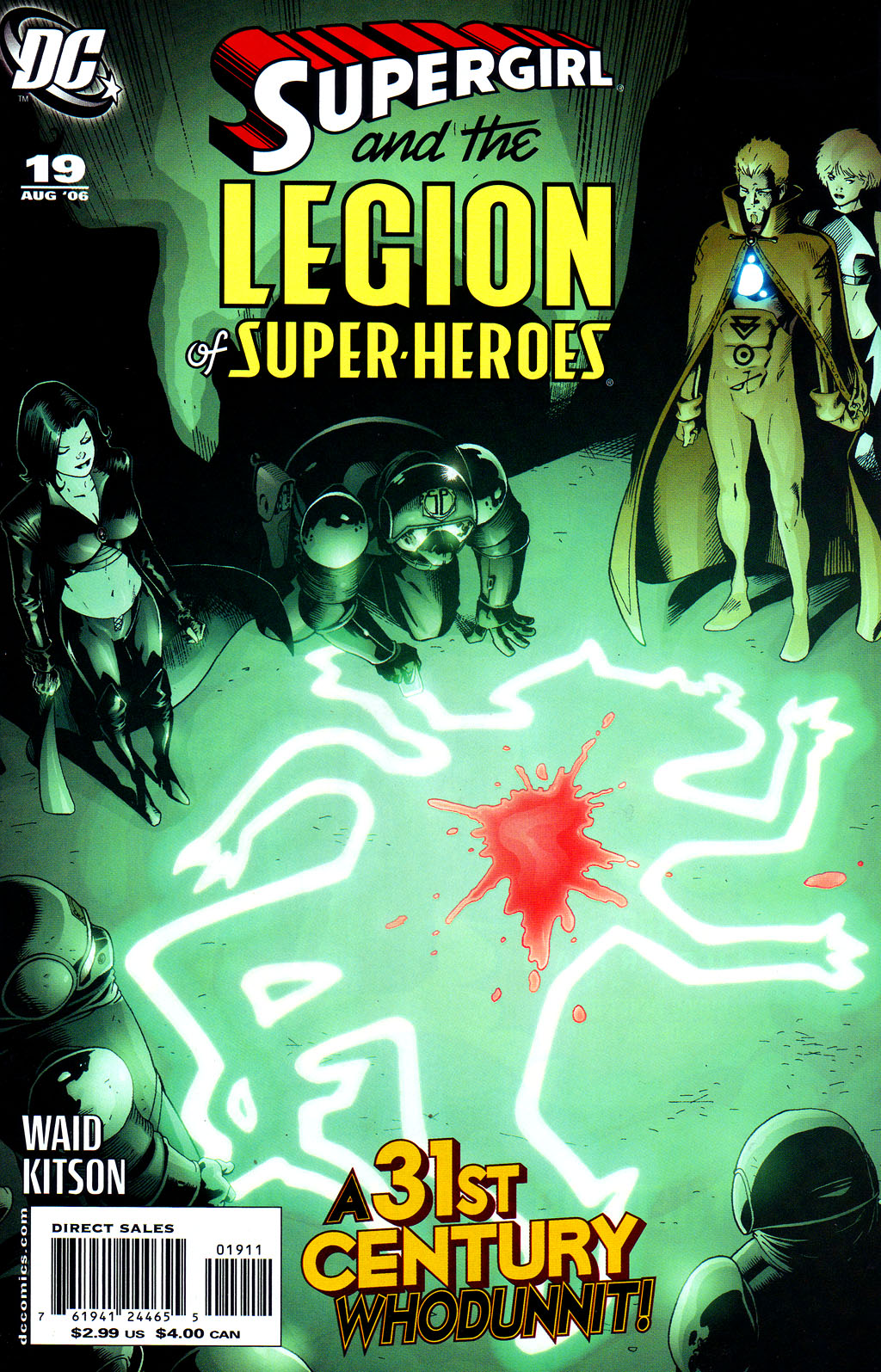 Supergirl and the Legion of Super-Heroes issue 19 - Page 1
