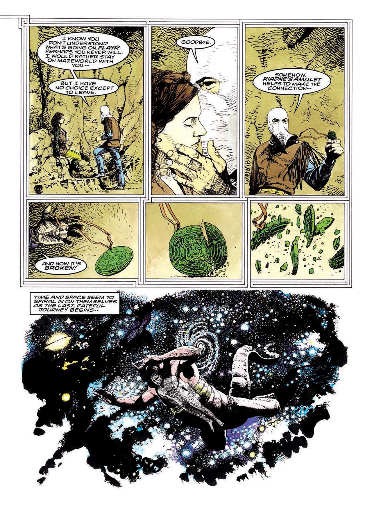 Read online Mazeworld comic -  Issue # TPB - 180