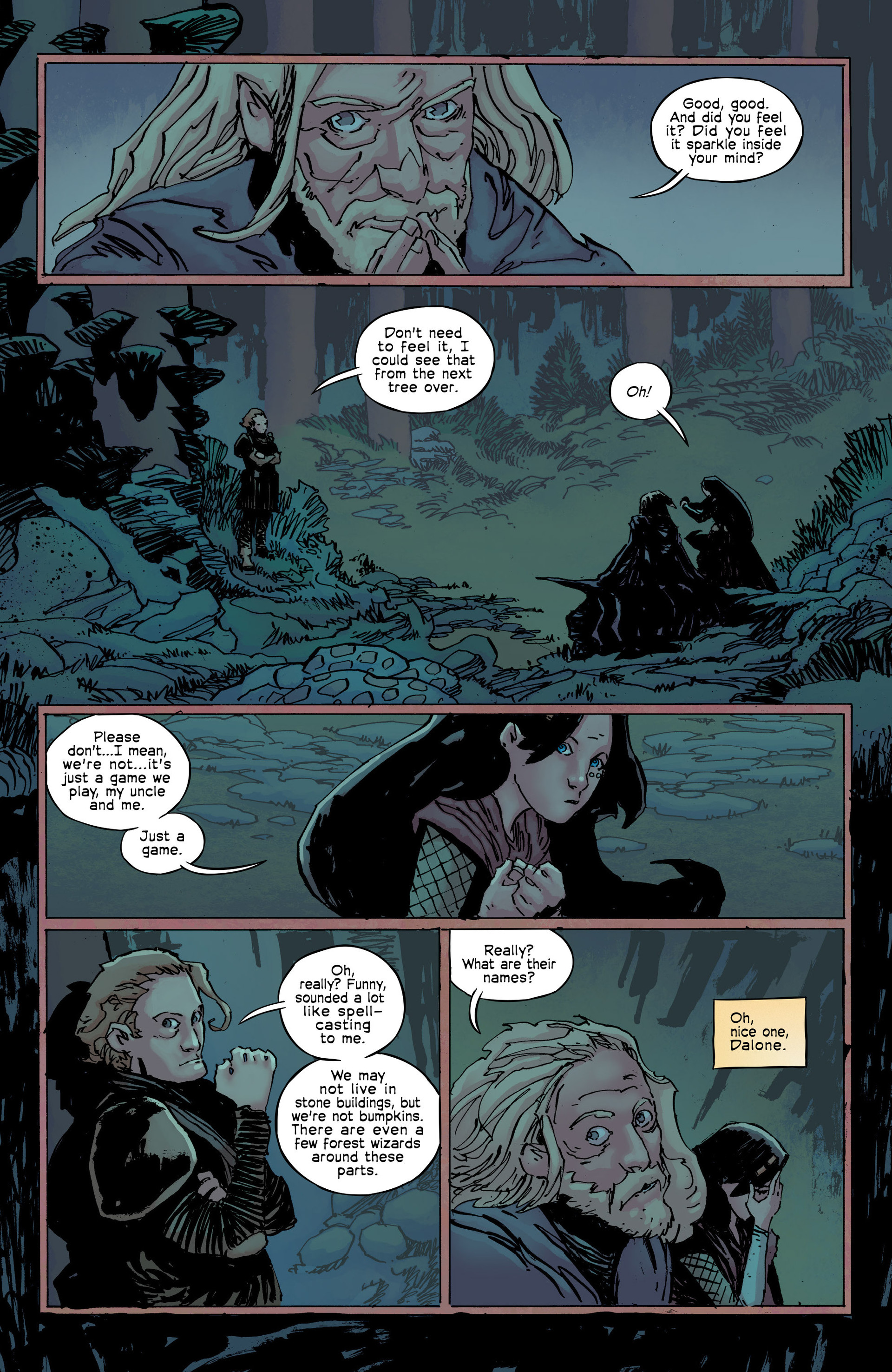 Read online Umbral comic -  Issue #9 - 17