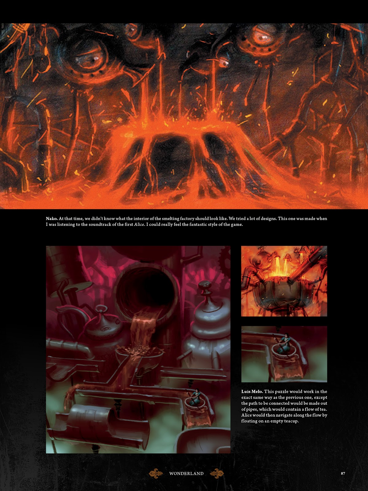 Read online The Art of Alice: Madness Returns comic -  Issue # TPB (Part 1) - 78
