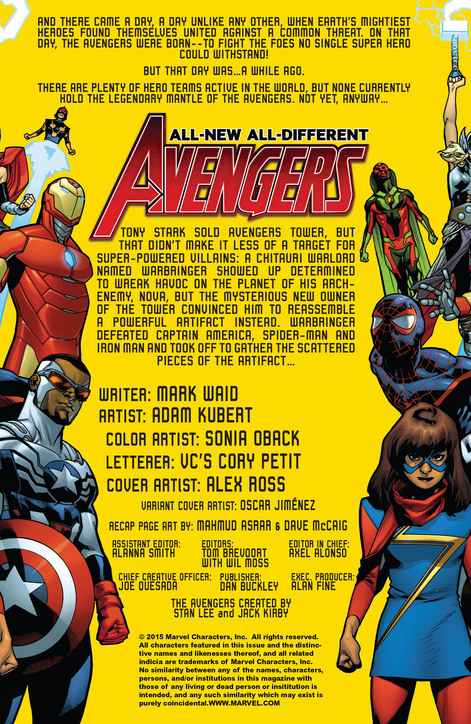 Read online All-New, All-Different Avengers comic -  Issue #2 - 2